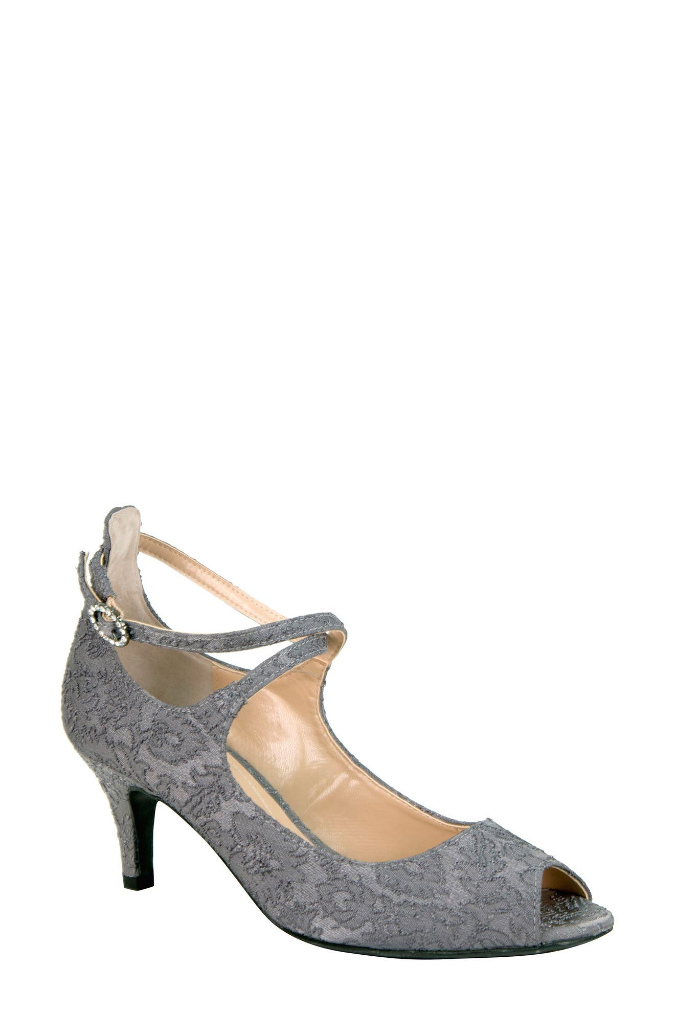 Alternate Image 1 Selected - J. Reneé Rolyne Peep Toe Pump (Women)