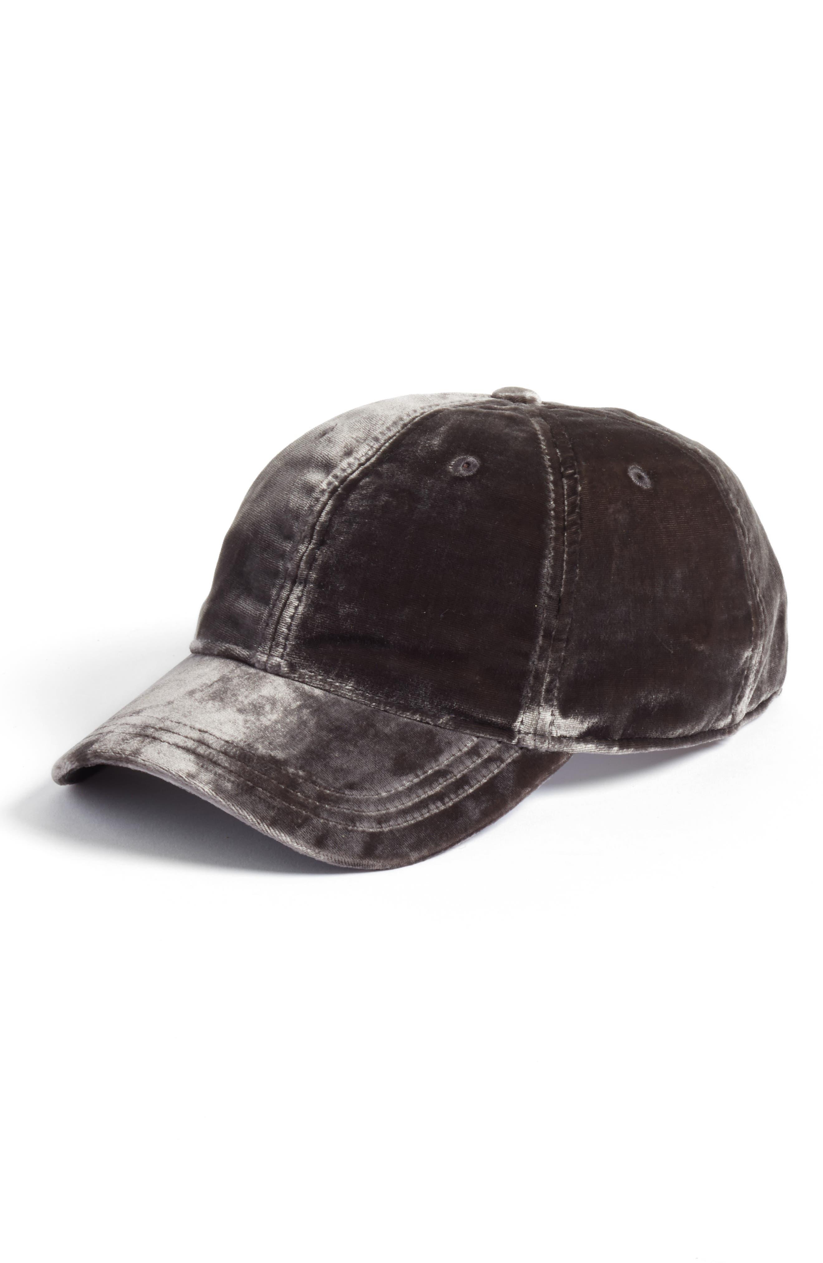 Madewell Velvet Baseball Cap