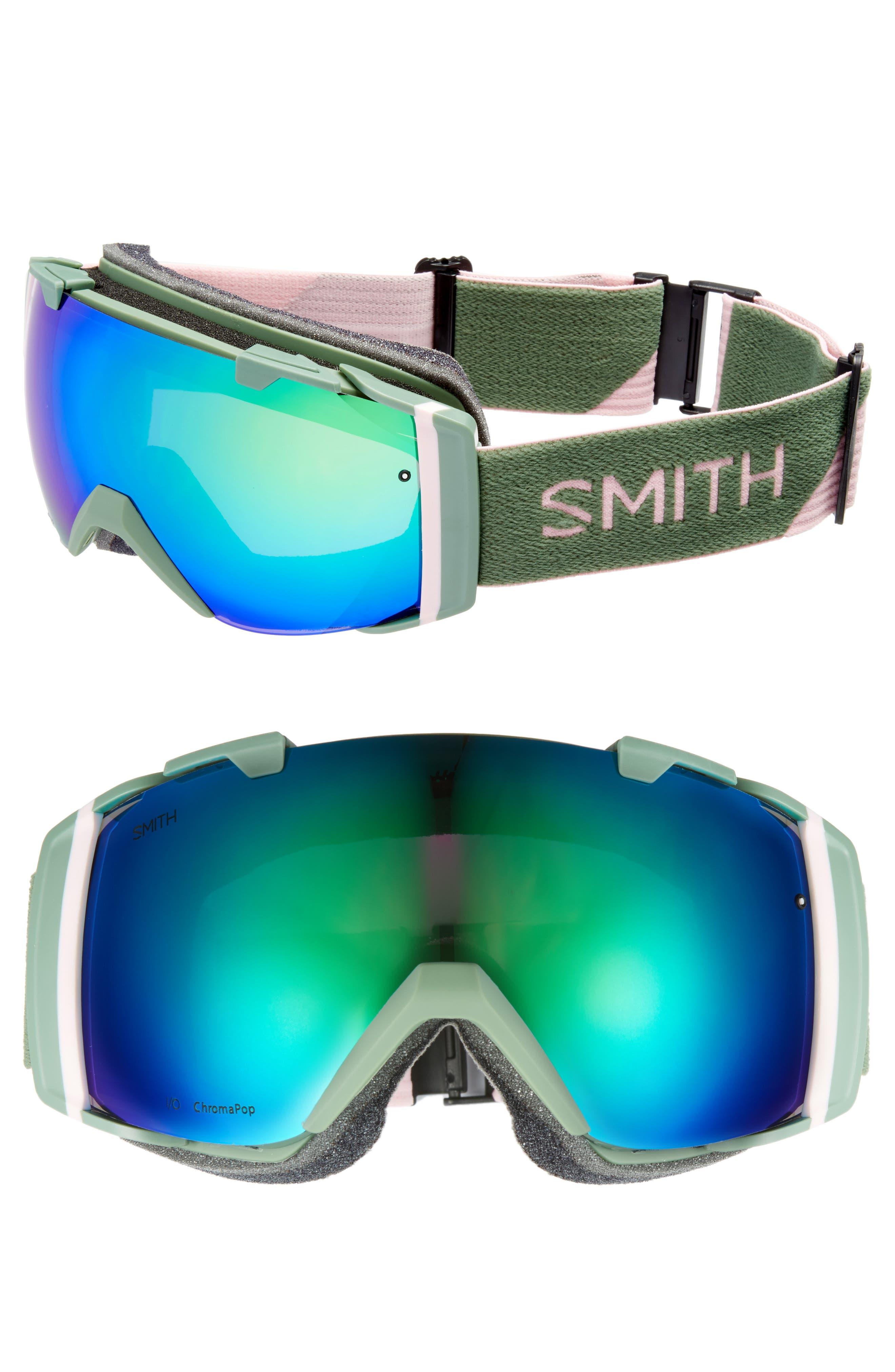 I/O 180mm Snow/Ski Goggles,                             Main thumbnail 1, color,                             Patina Split/ Mirror