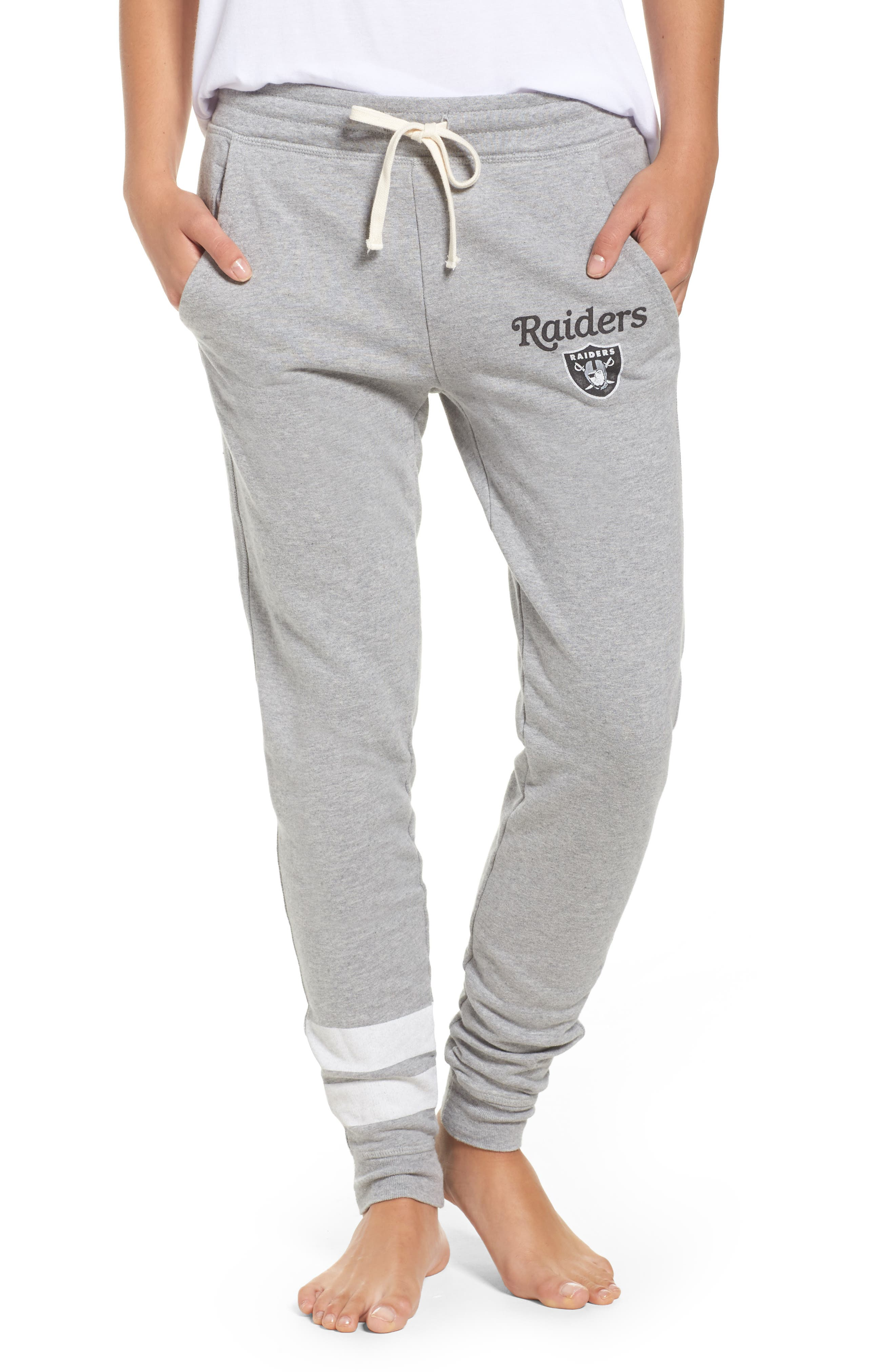 Alternate Image 1 Selected - Junk Food NFL Oakland Raiders Sweatpants
