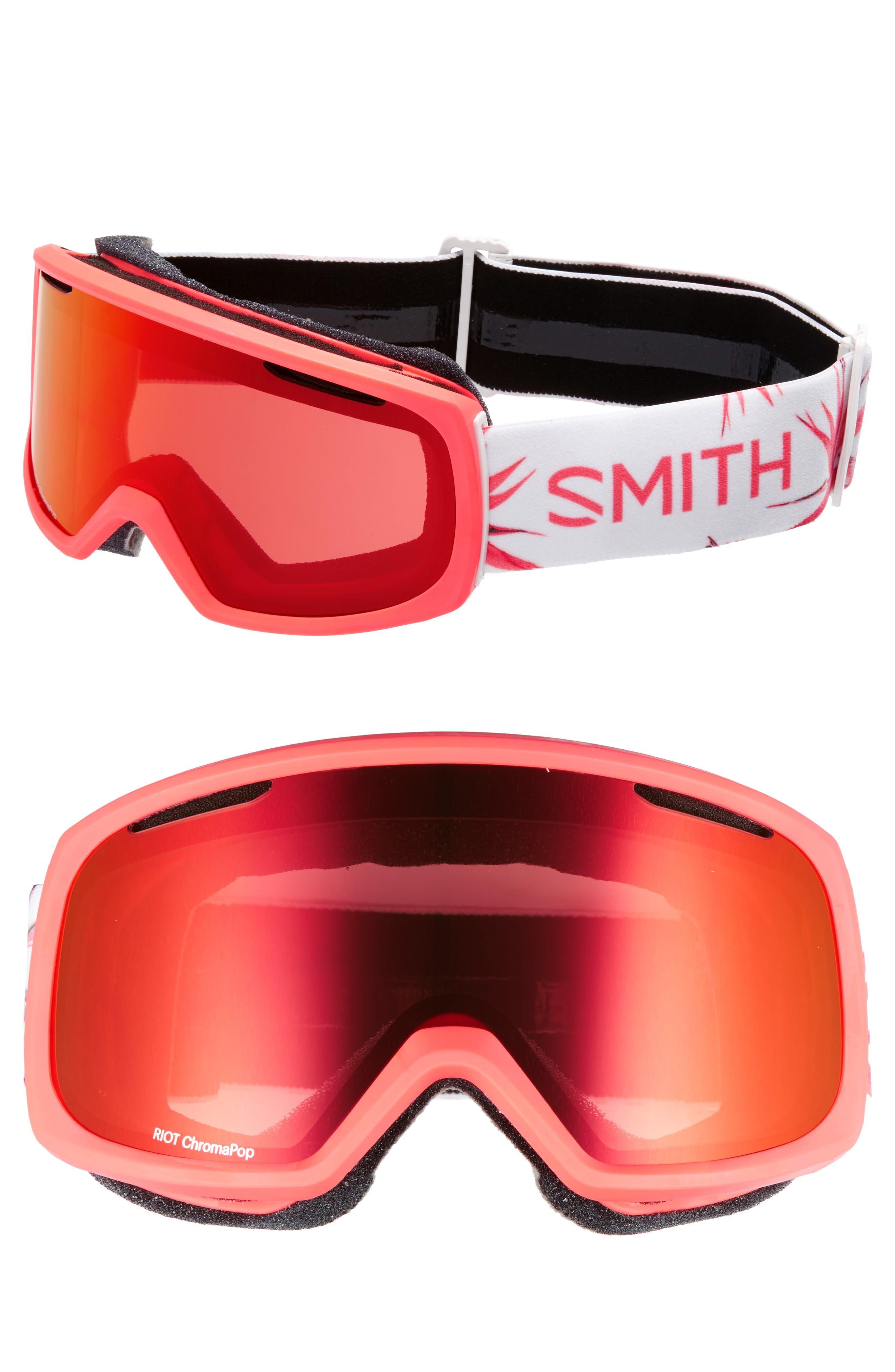 Riot Chromapop Snow/Ski Goggles,                         Main,                         color, Sunburst Zen/ Mirror
