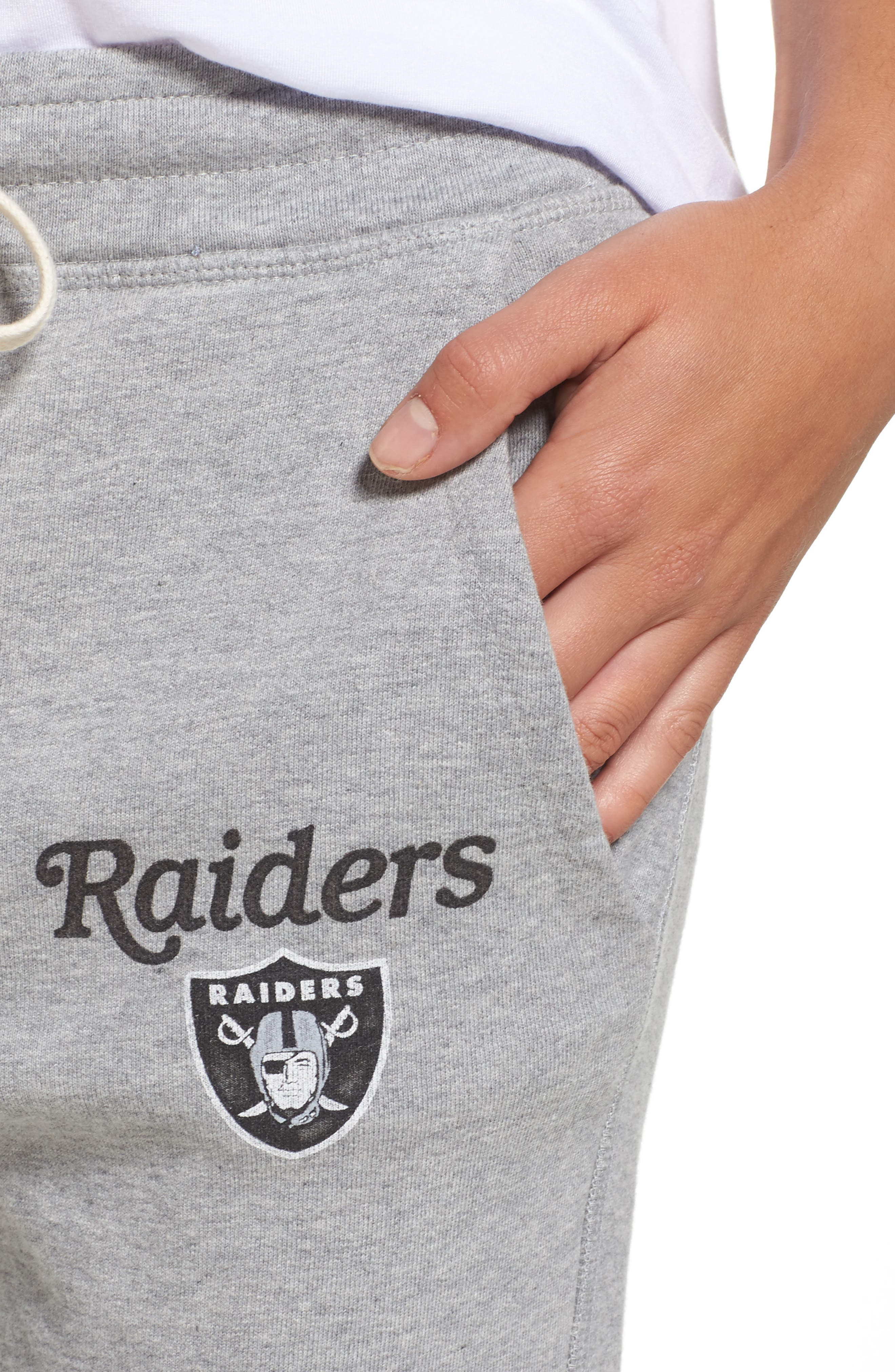 Alternate Image 5  - Junk Food NFL Oakland Raiders Sweatpants