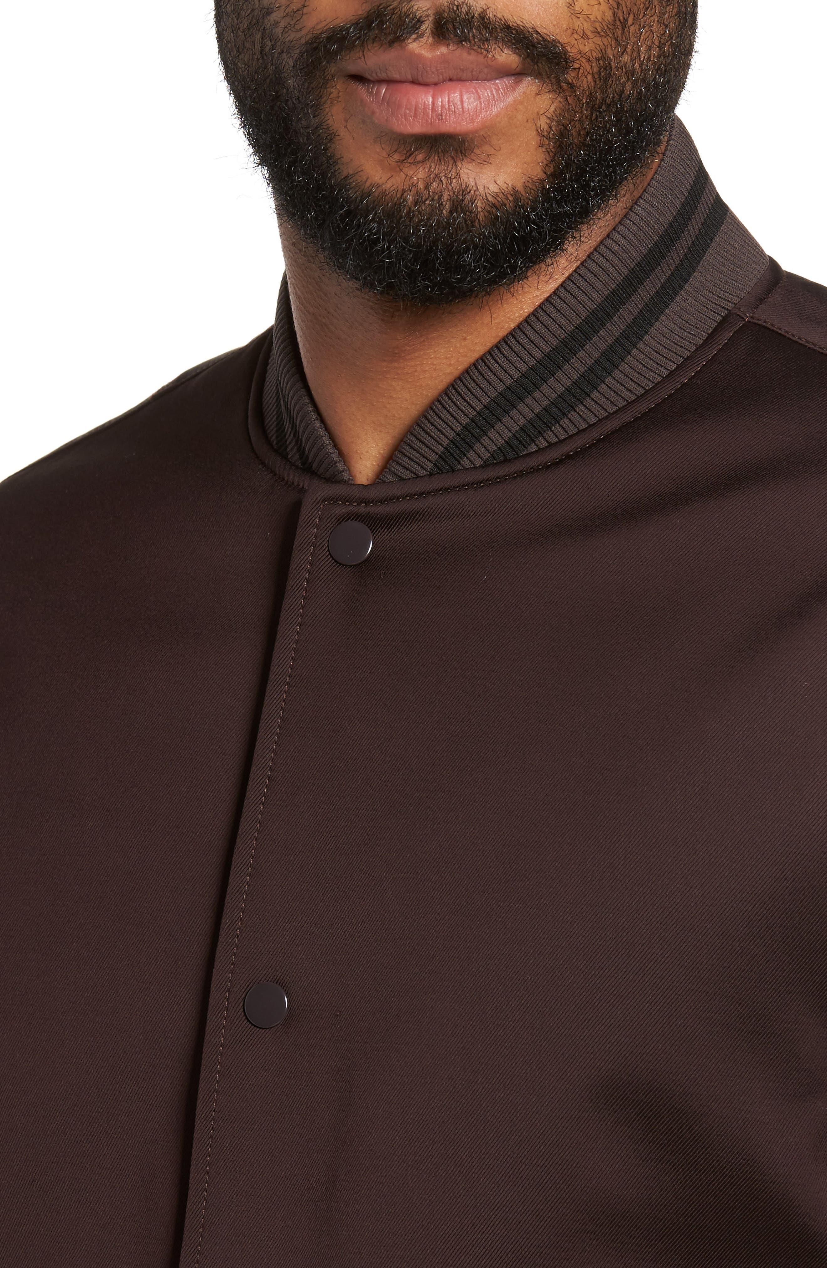 Varsity Jacket,                             Alternate thumbnail 4, color,                             Zinfandel