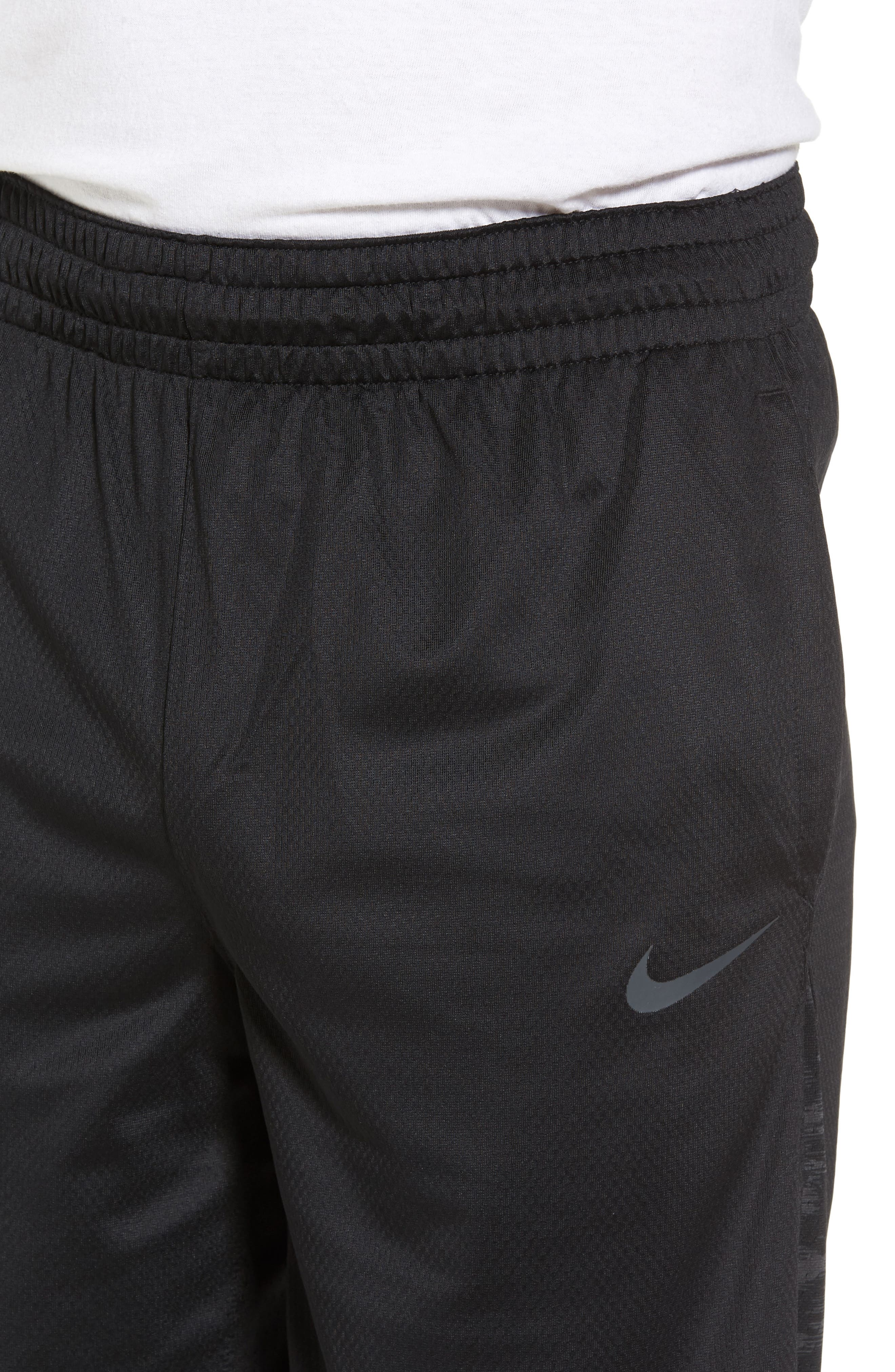 Alternate Image 4  - Nike Basketball Shorts