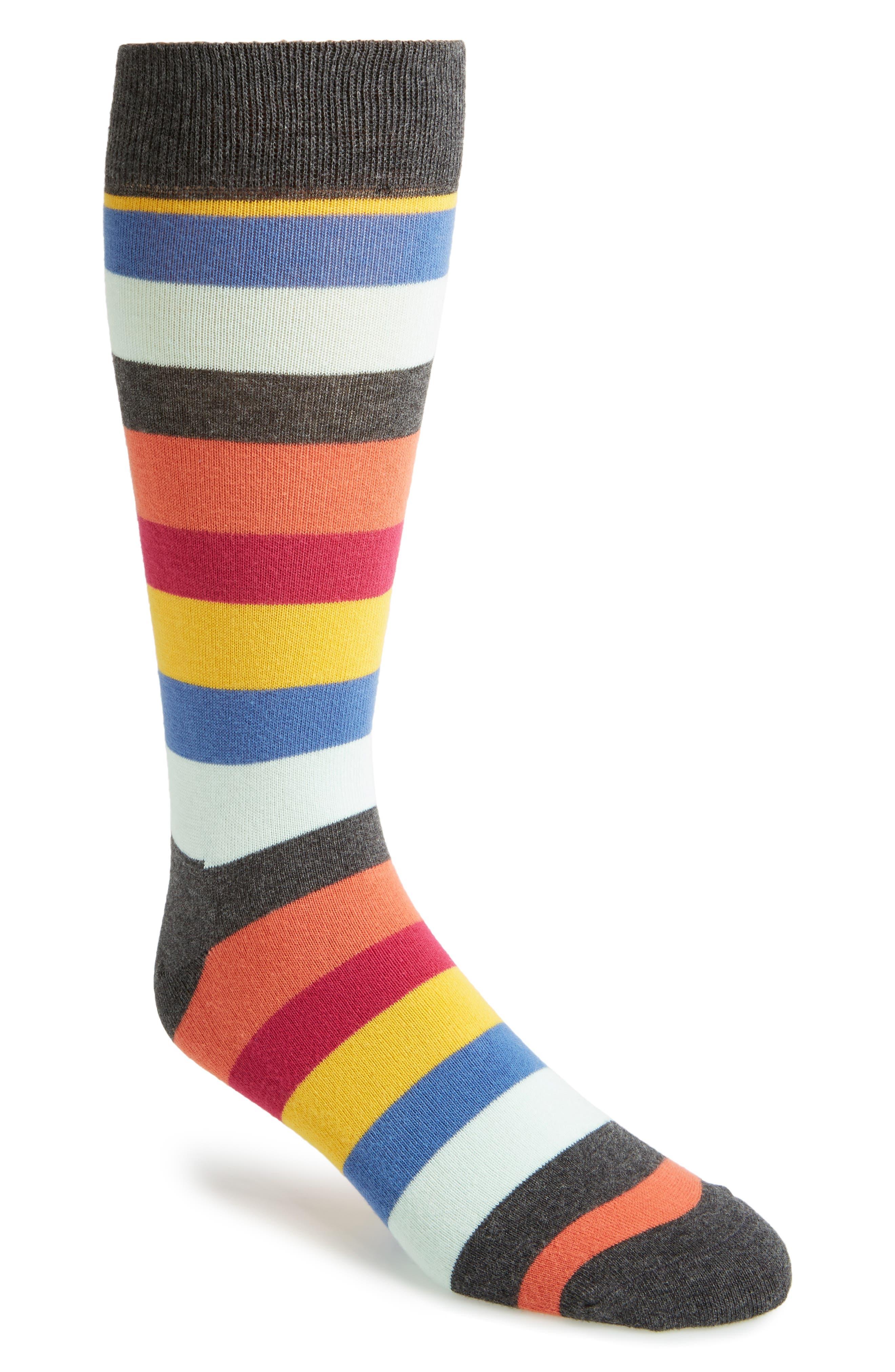 Main Image - Happy Socks Stripe Socks (3 for $30)