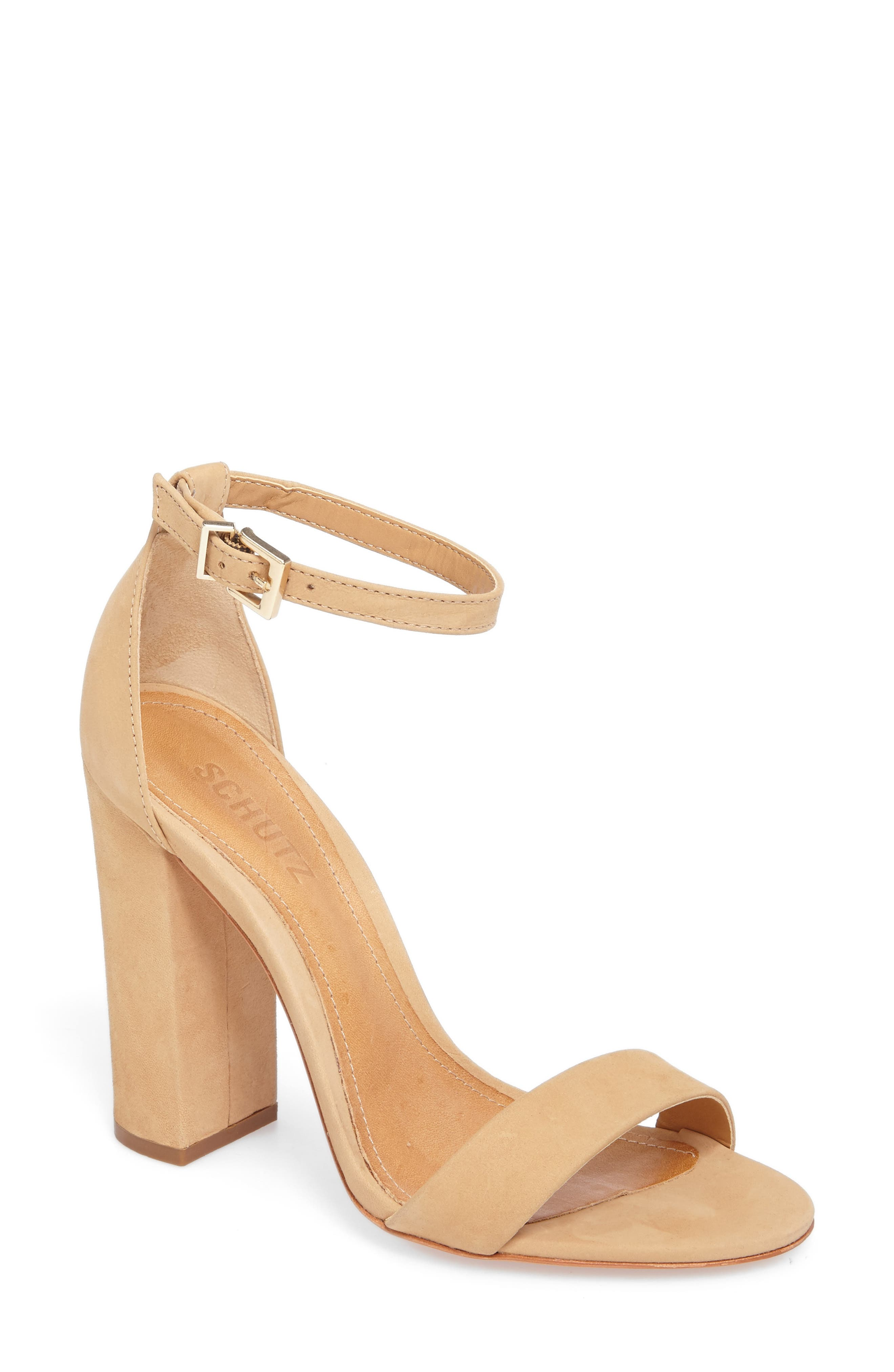 Alternate Image 1 Selected - Schutz Enida Strappy Sandal (Women)