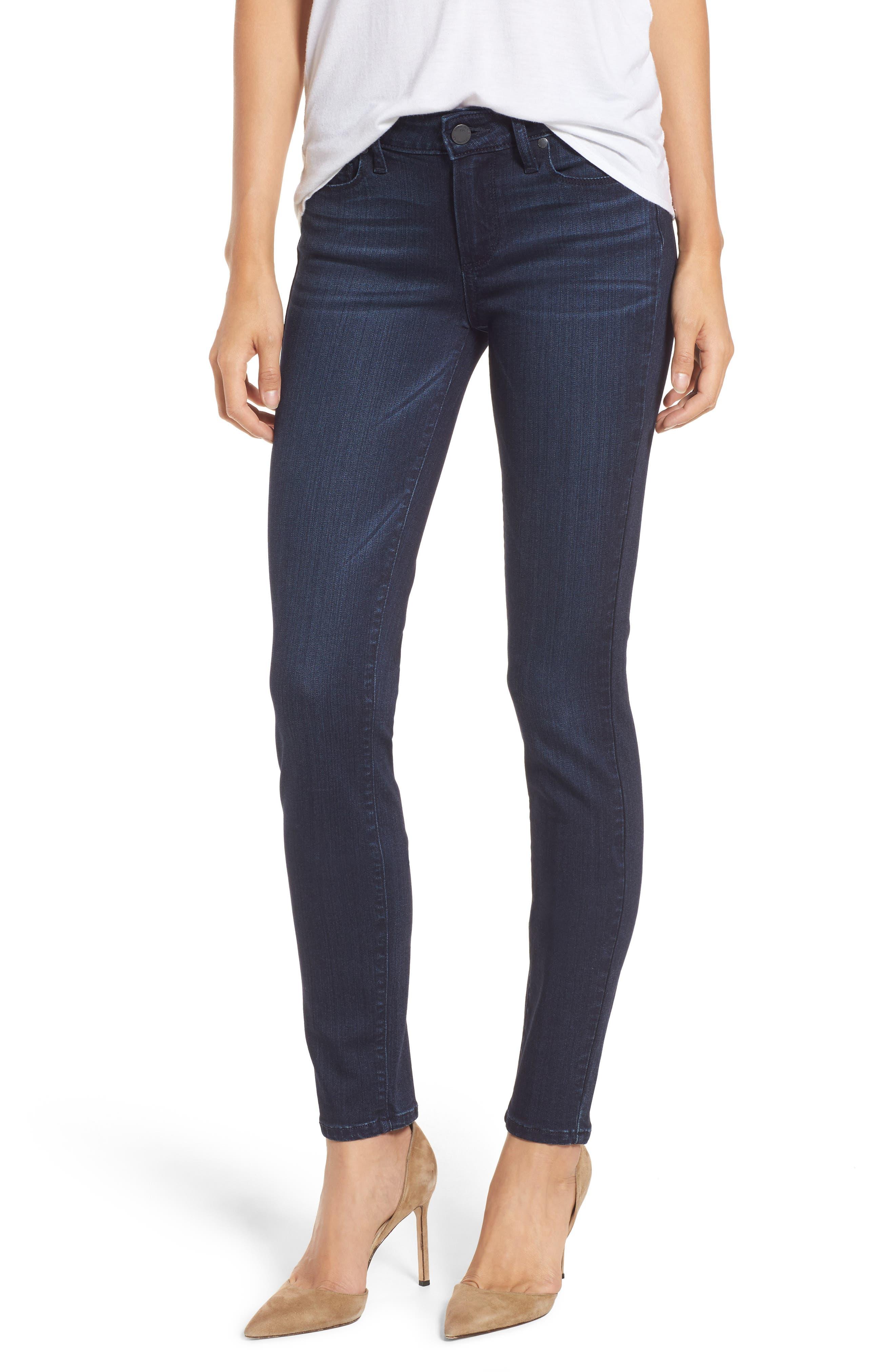 Main Image - PAIGE Transcend - Verdugo Ultra Skinny Jeans (Hazen)