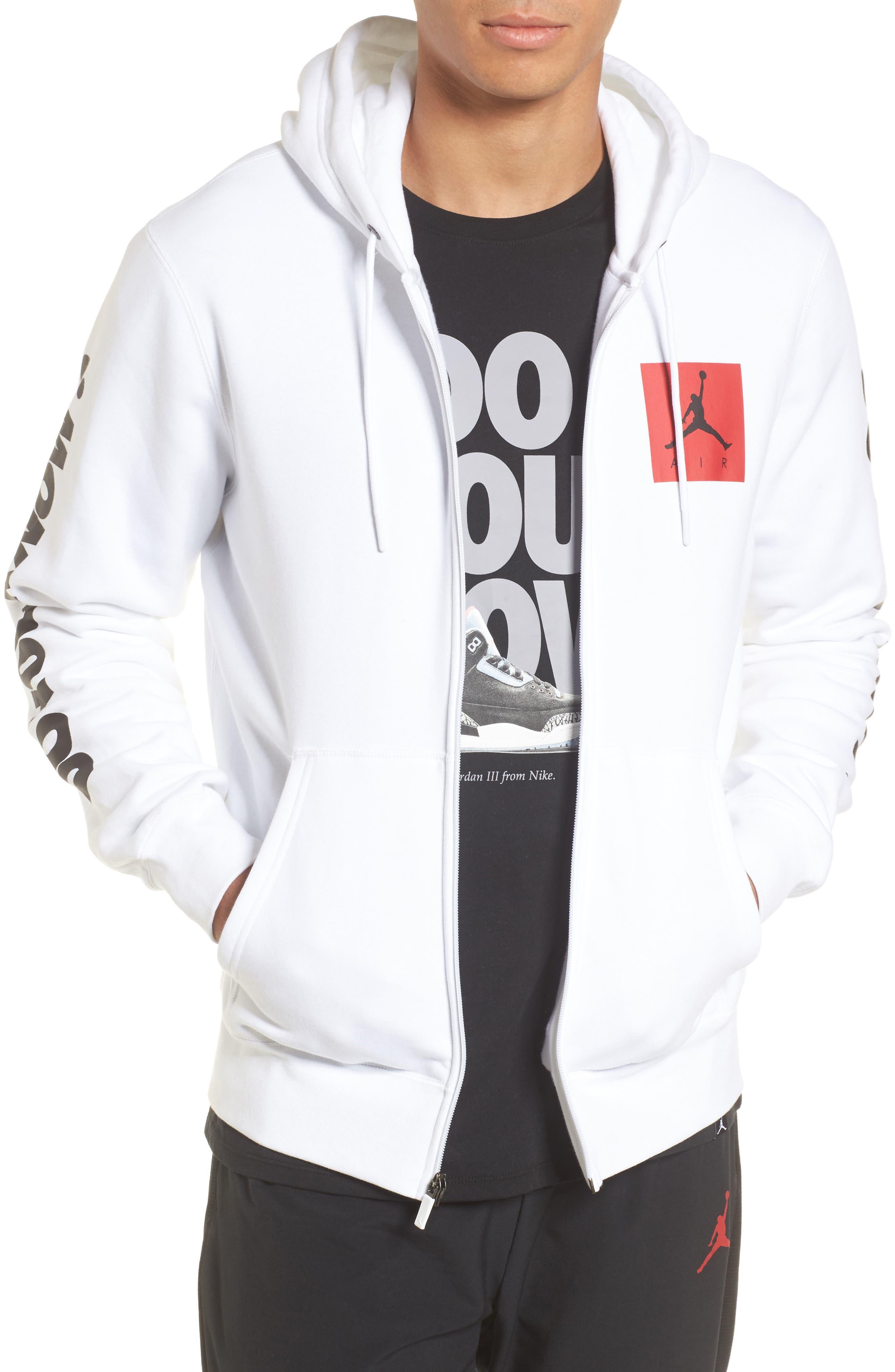 Nike Jordan Flight Fleece AJ3 Zip Hoodie
