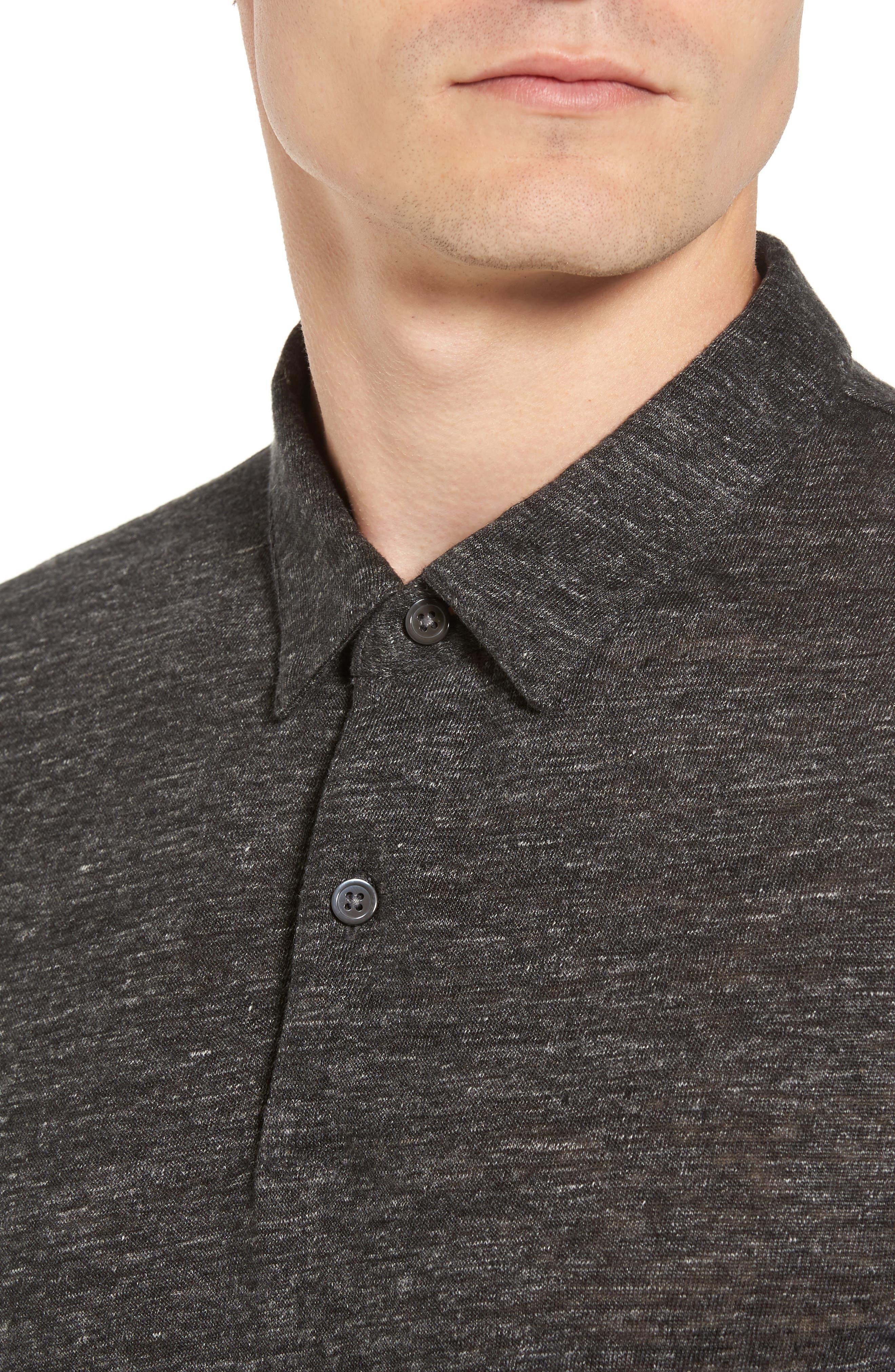 Alternate Image 4  - Theory Linen Polo