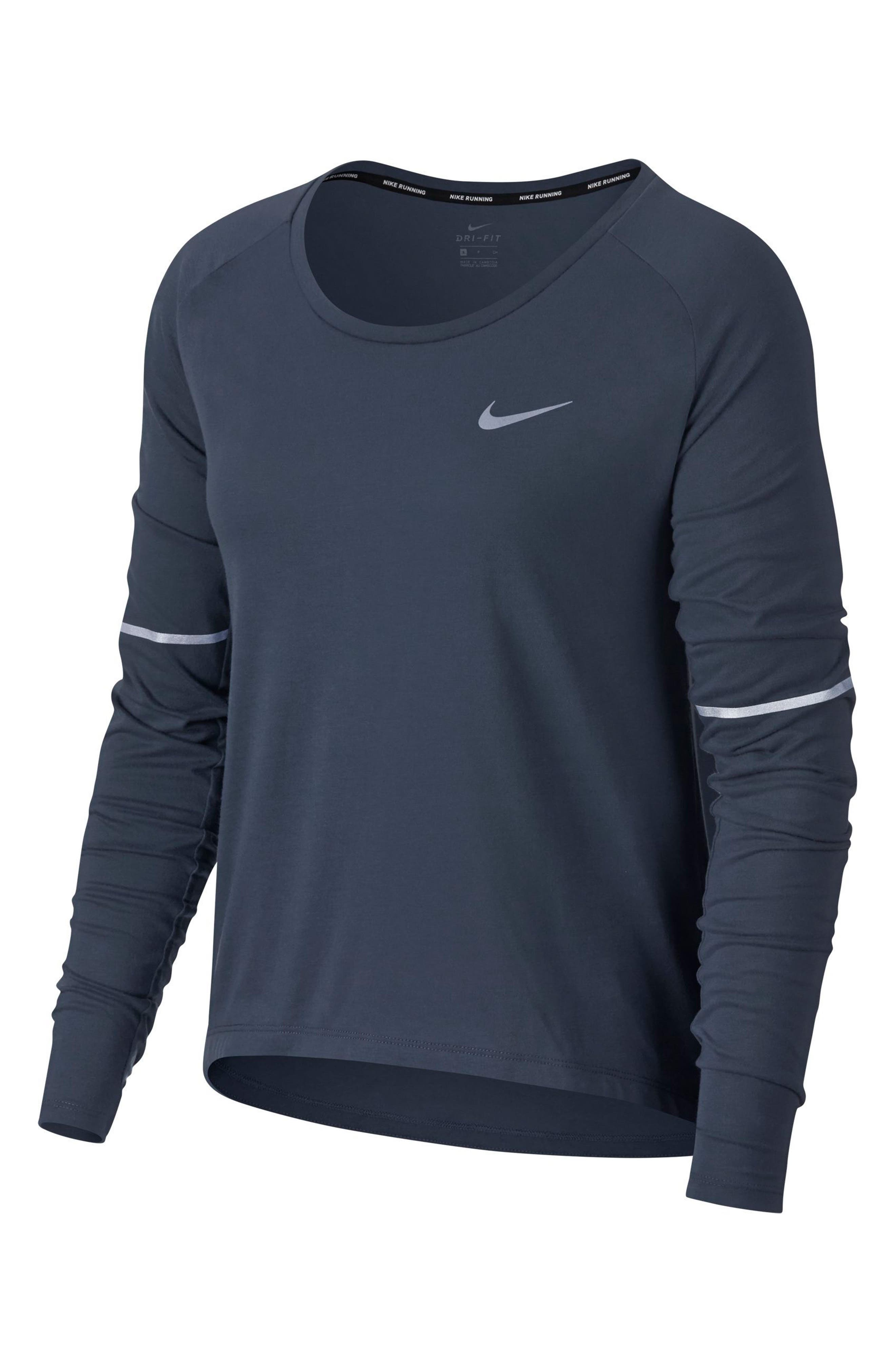 Alternate Image 1 Selected - Nike Breathe Women's Running Top