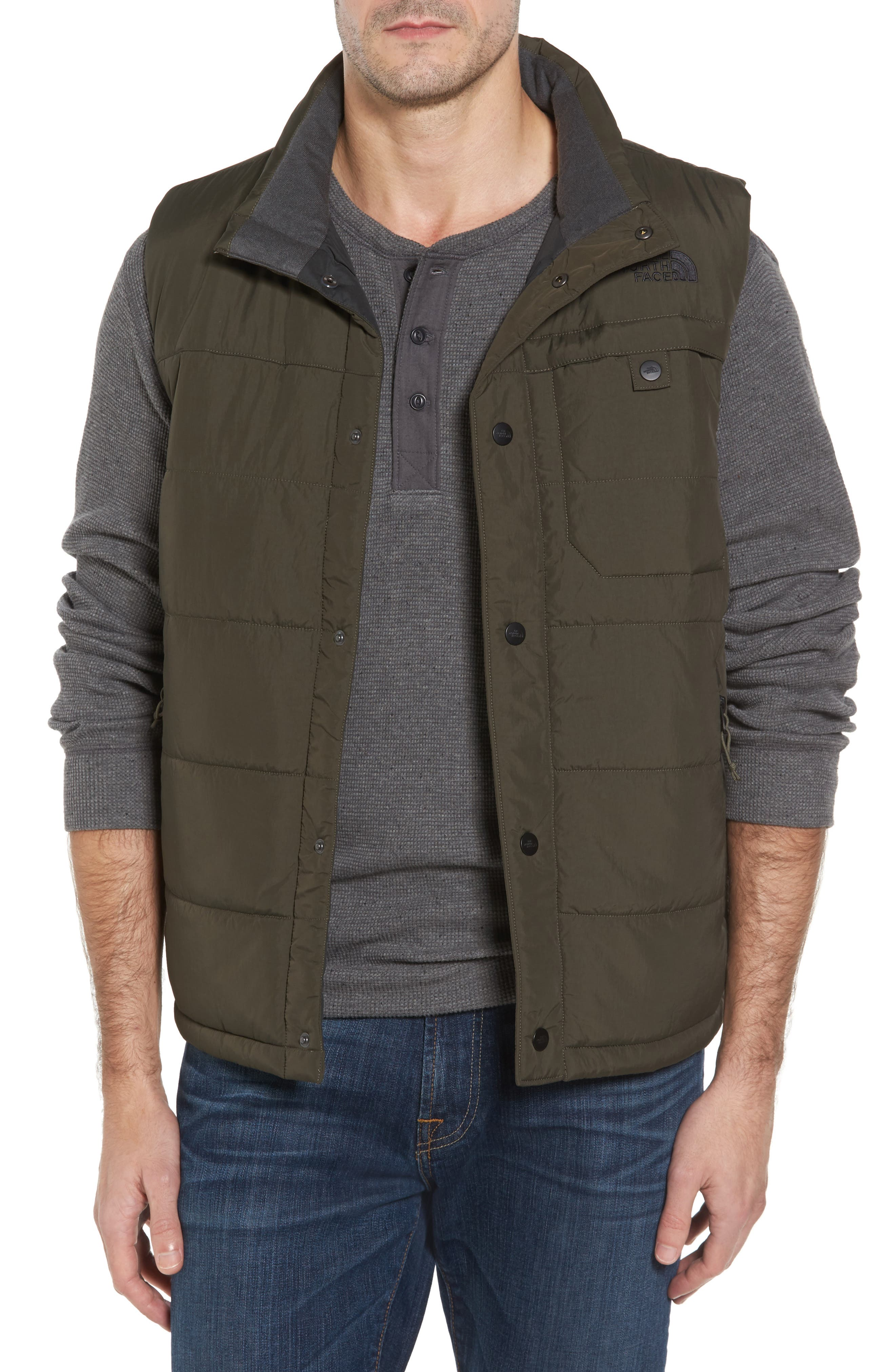 Alternate Image 1 Selected - The North Face Harway Heatseeker Insulated Vest