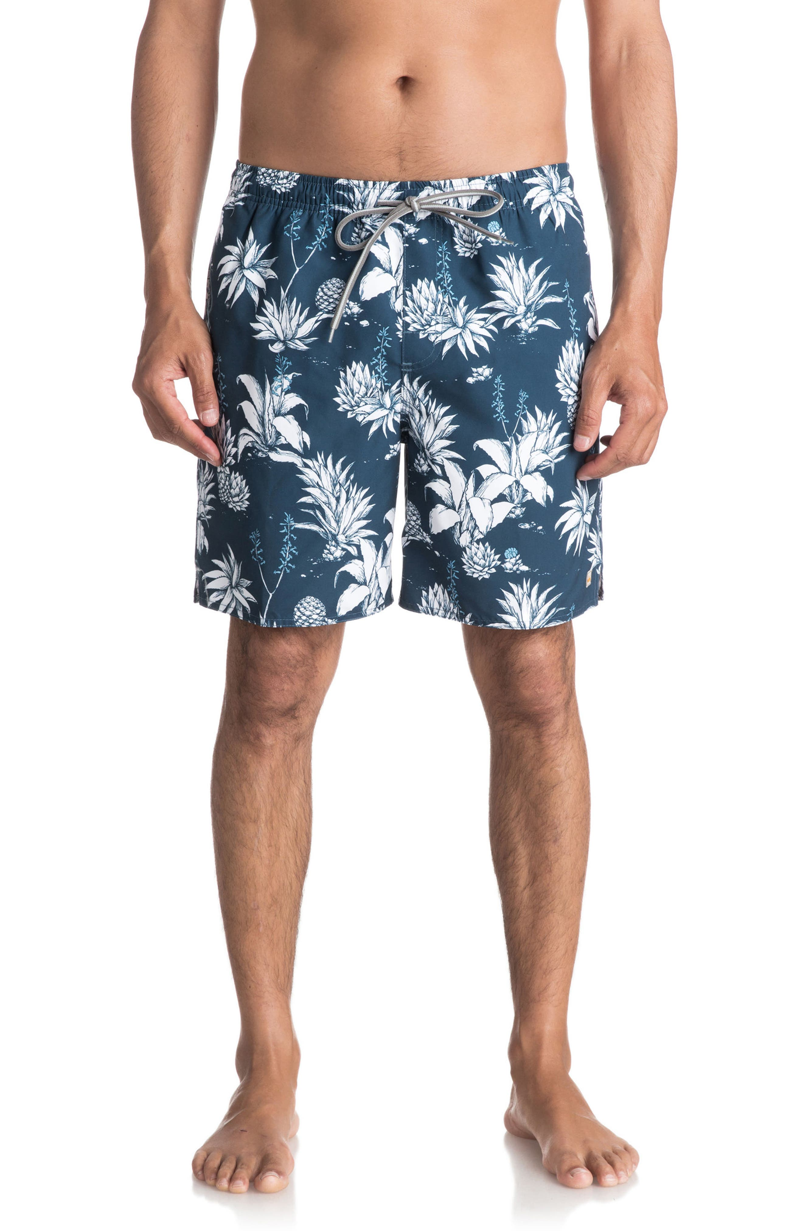 Quiksilver Waterman Collection Agavy Volley Shorts