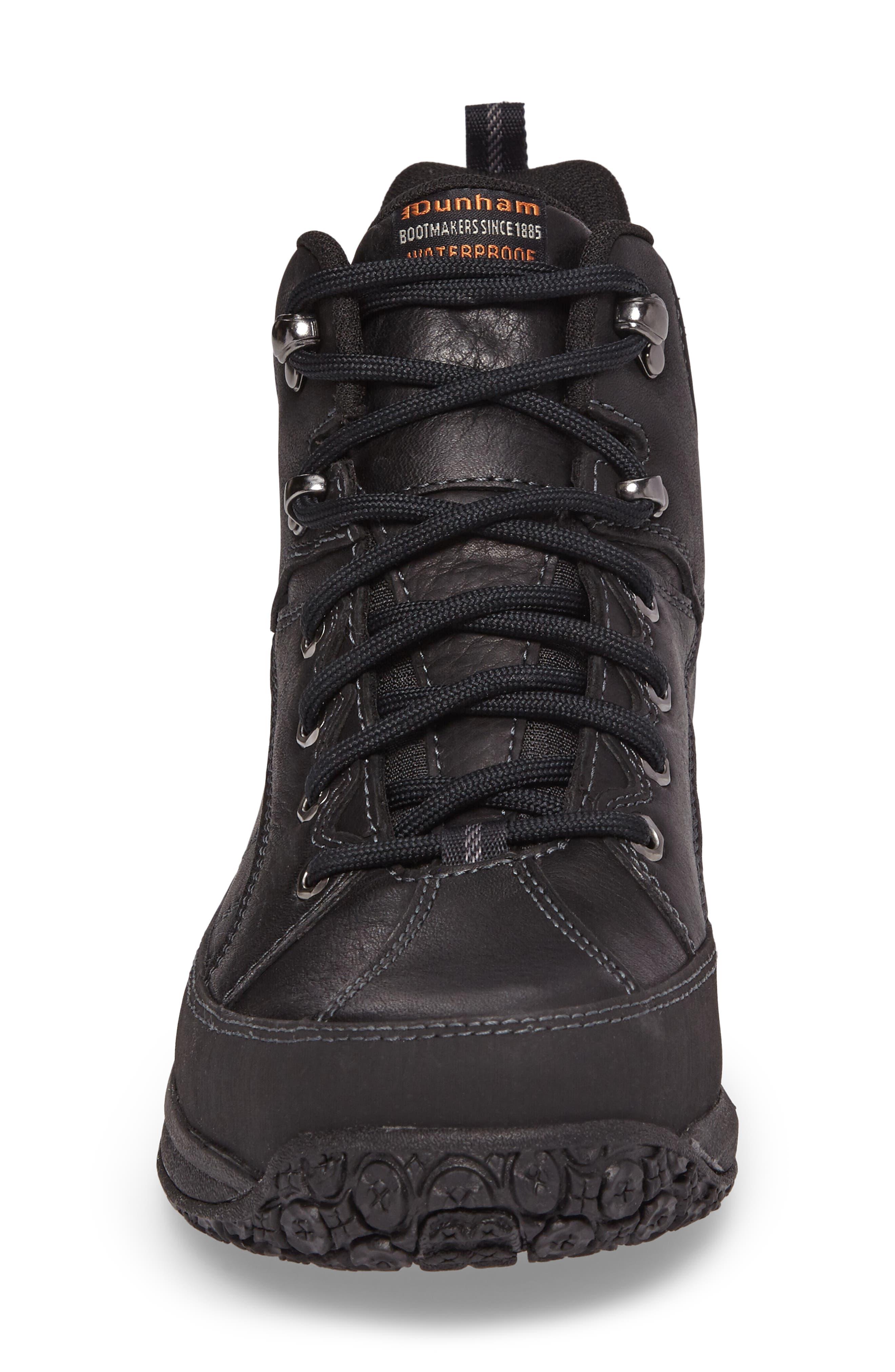 'Lawrence' Boot,                             Alternate thumbnail 4, color,                             Black