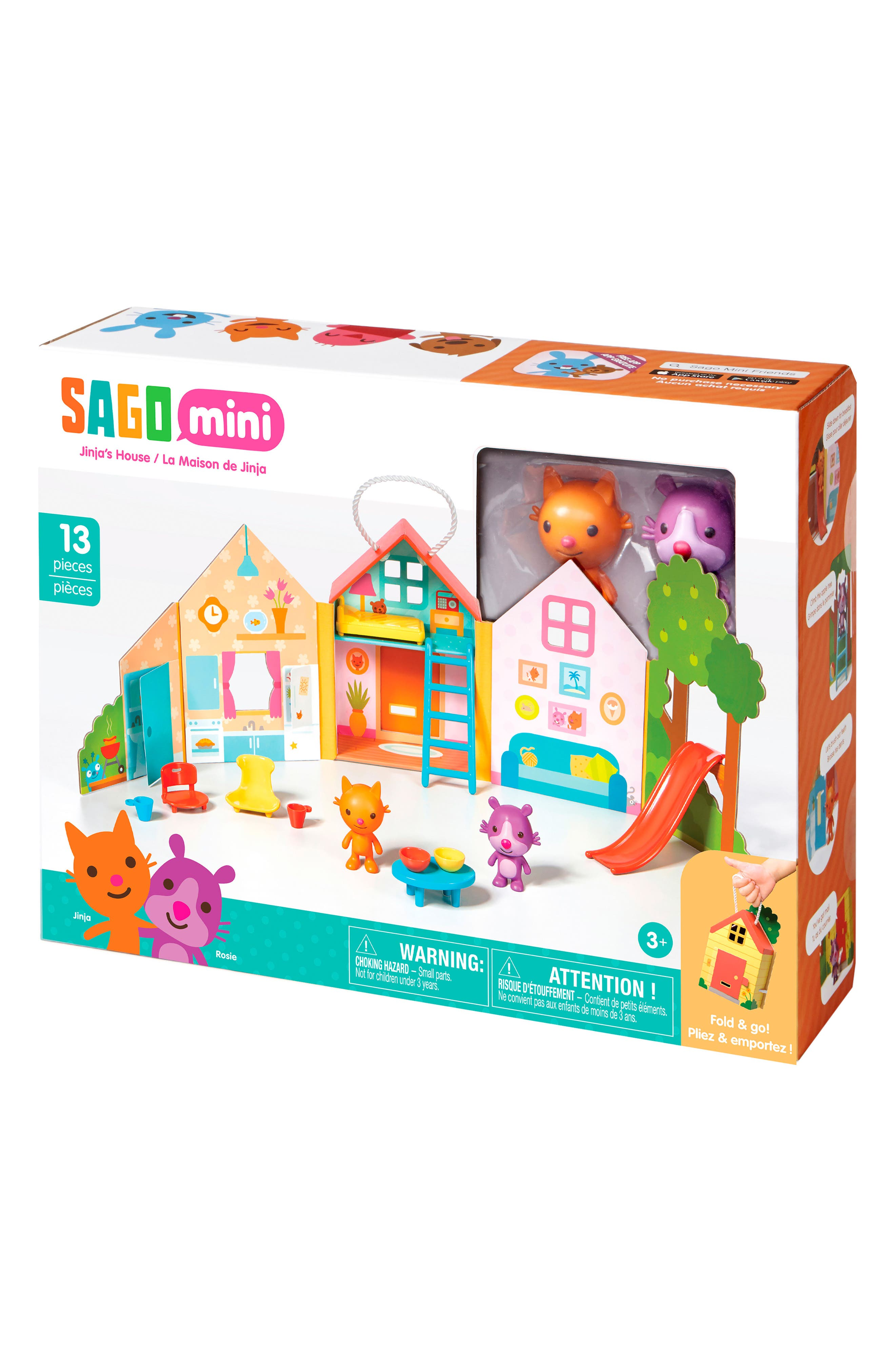 Jinja's House Portable Play Set,                             Main thumbnail 1, color,                             Multi