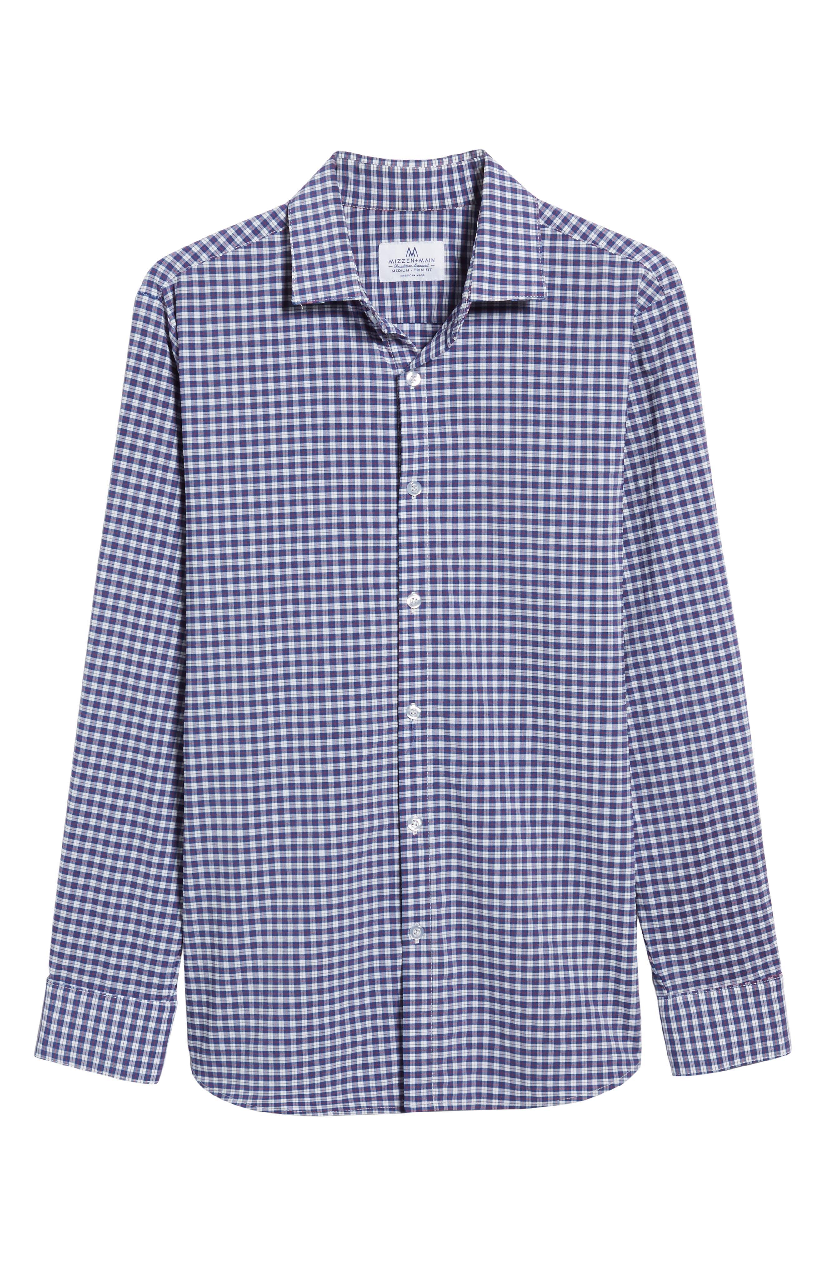 Alternate Image 6  - Mizzen+Main Howe 2.0 Plaid Sport Shirt