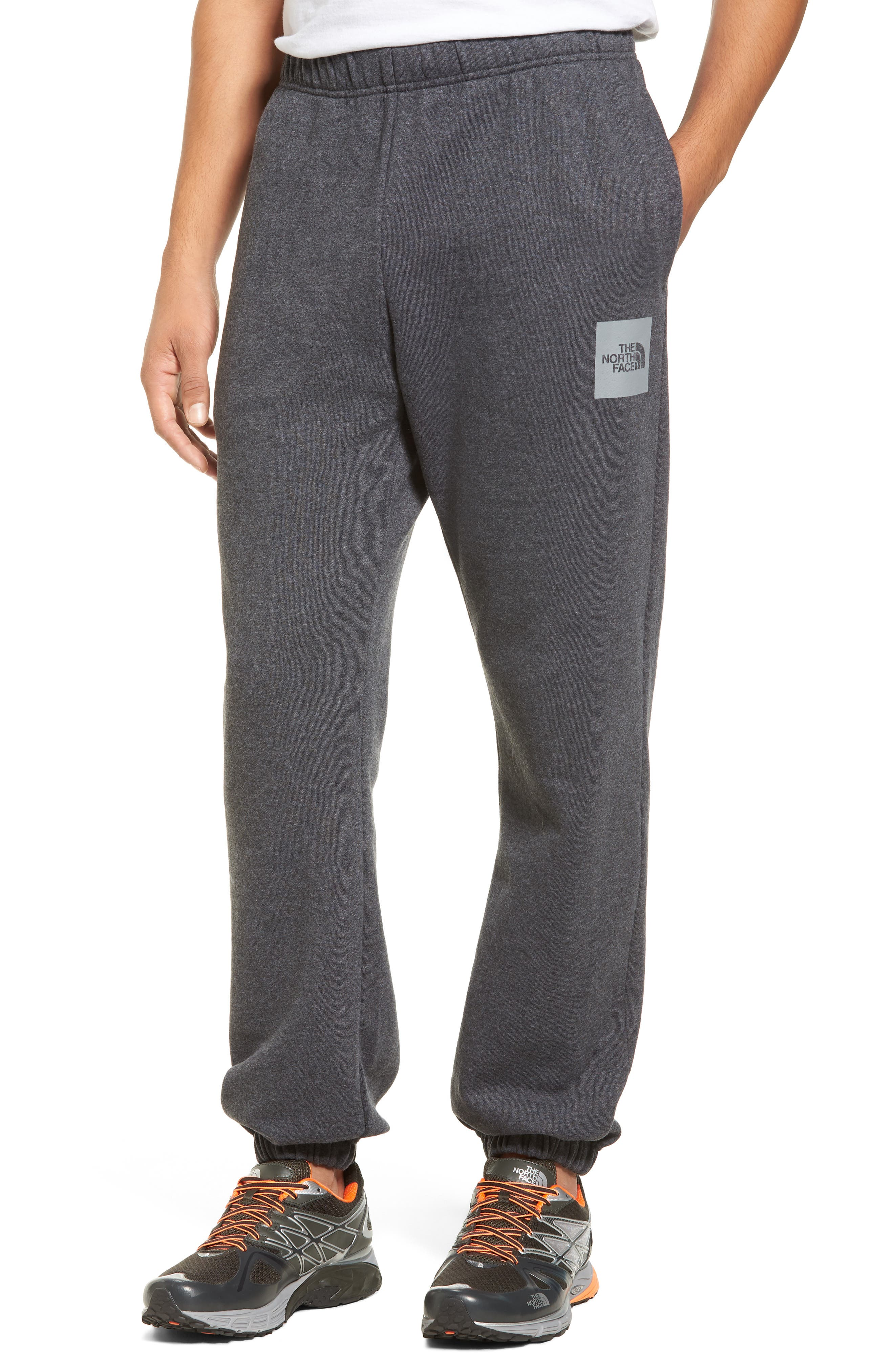 Reflective Never Stop Pants,                         Main,                         color, Dark Grey Hthr/Monument Grey