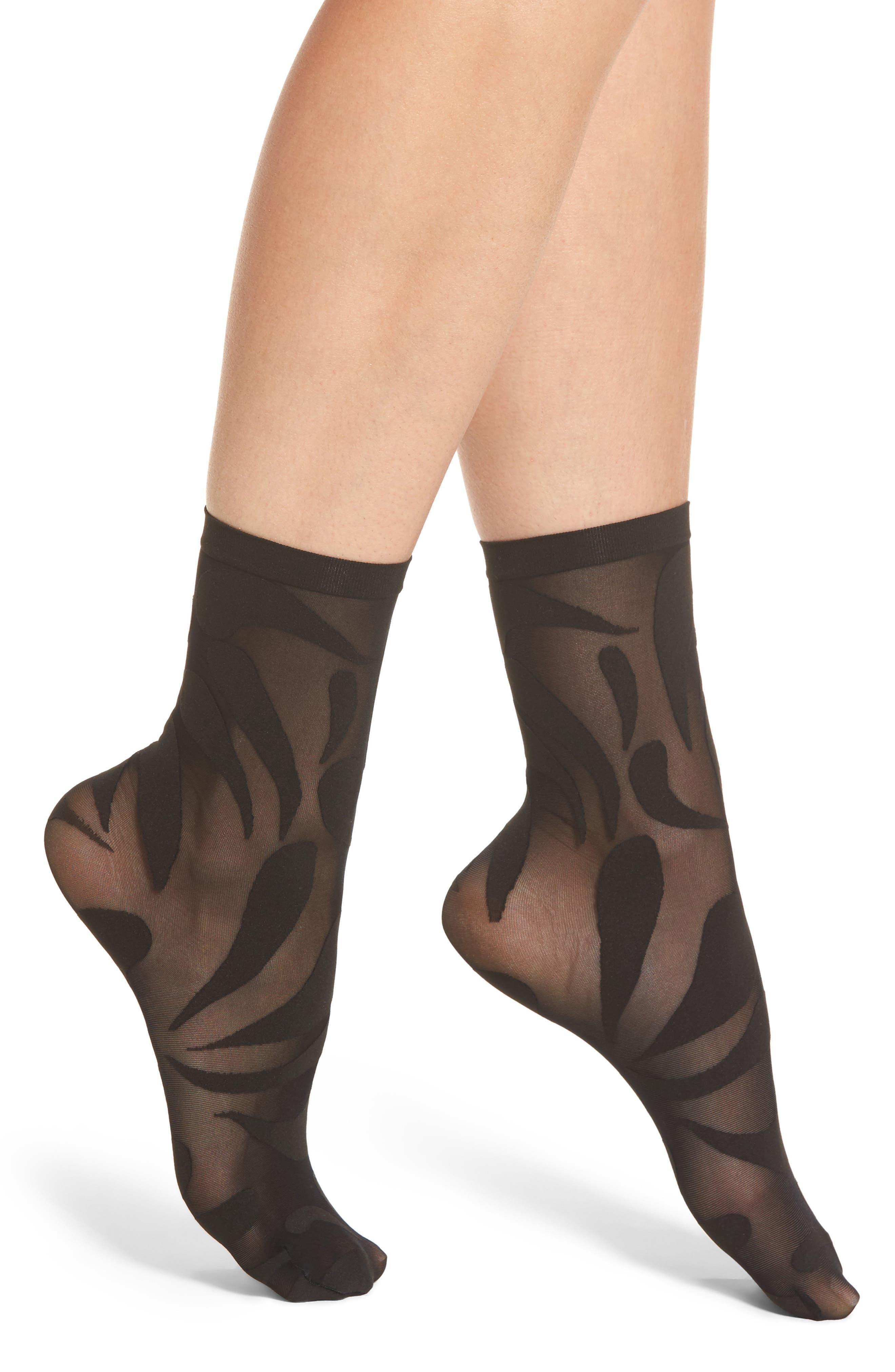Wolford Droplet Trouser Socks