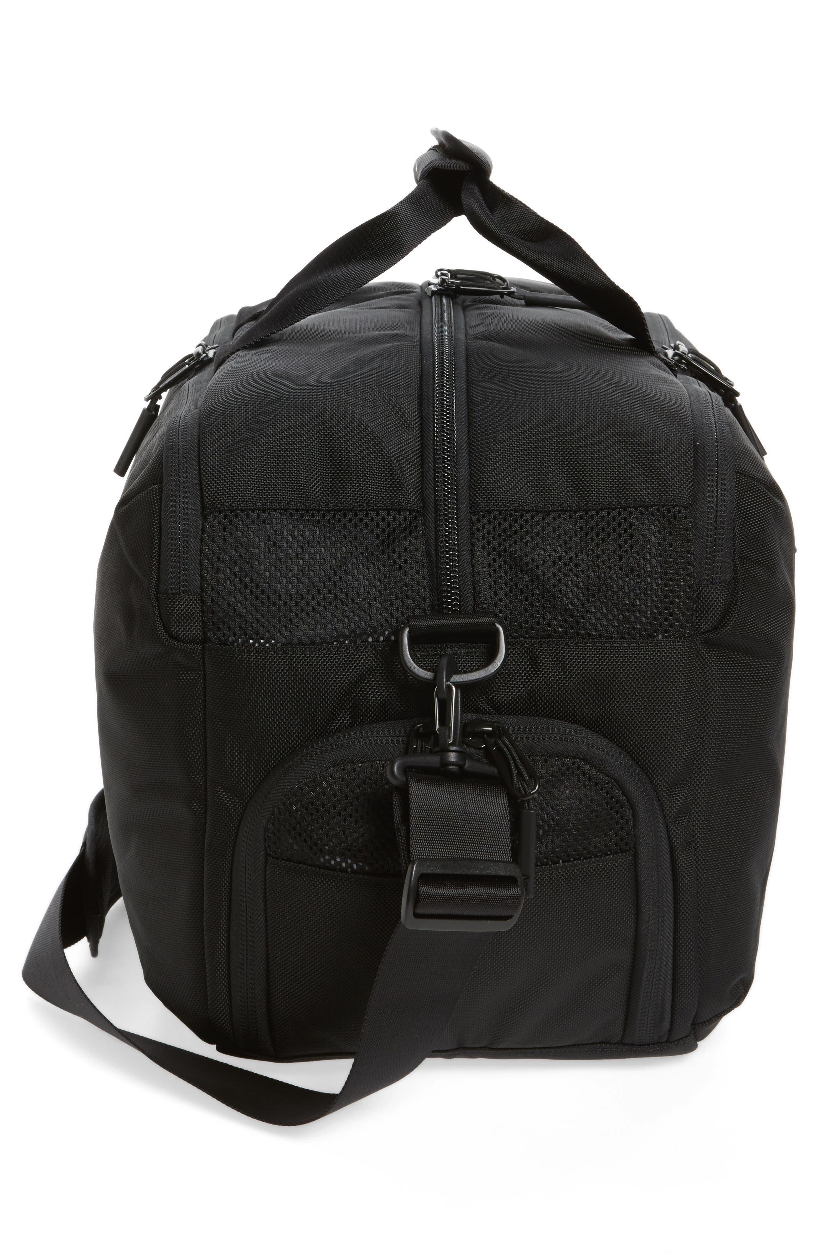 Gym Duffel 2 Bag,                             Alternate thumbnail 5, color,                             Black