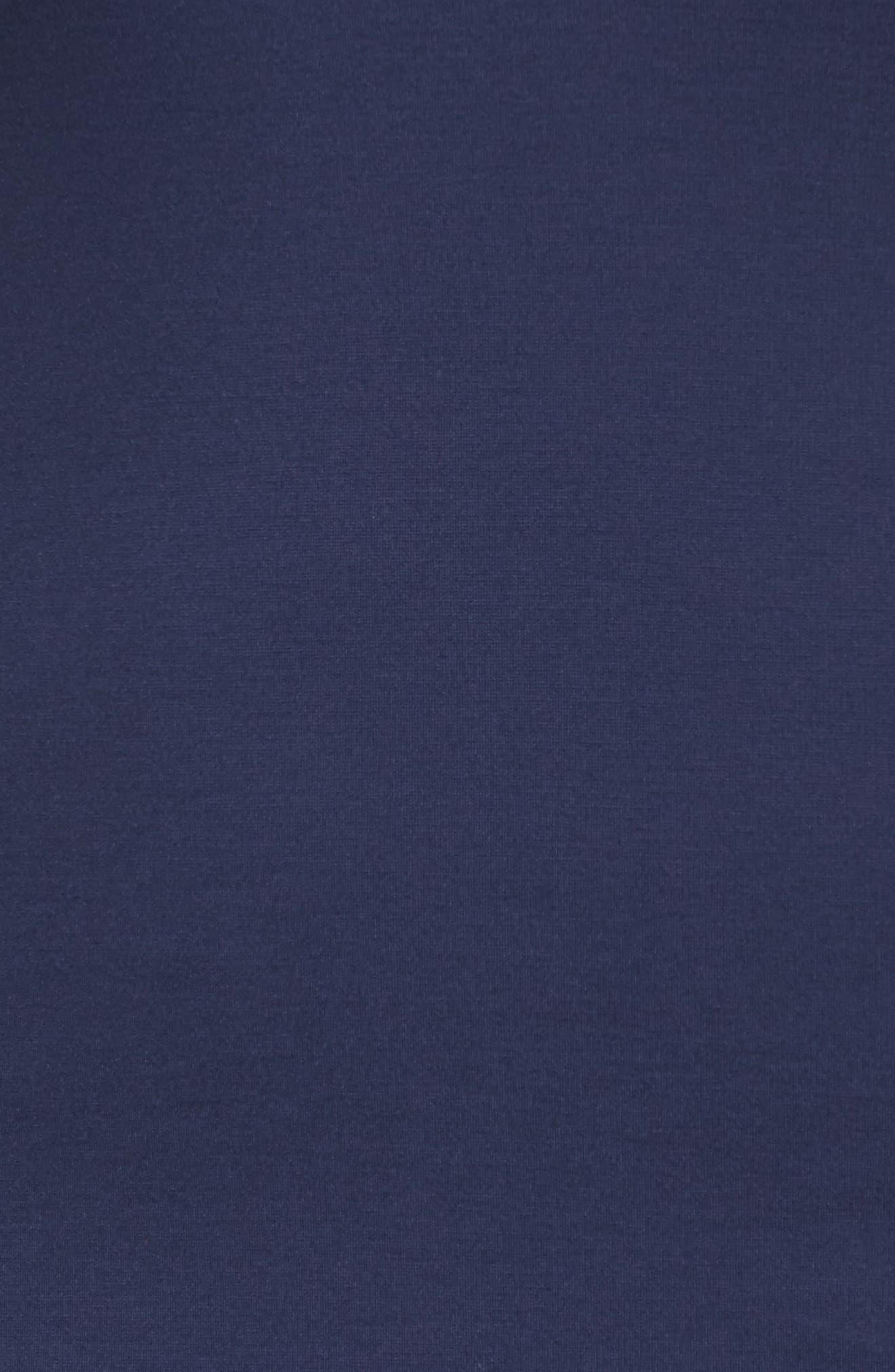 Alternate Image 5  - Sejour Flounce Hem Dress (Plus Size)