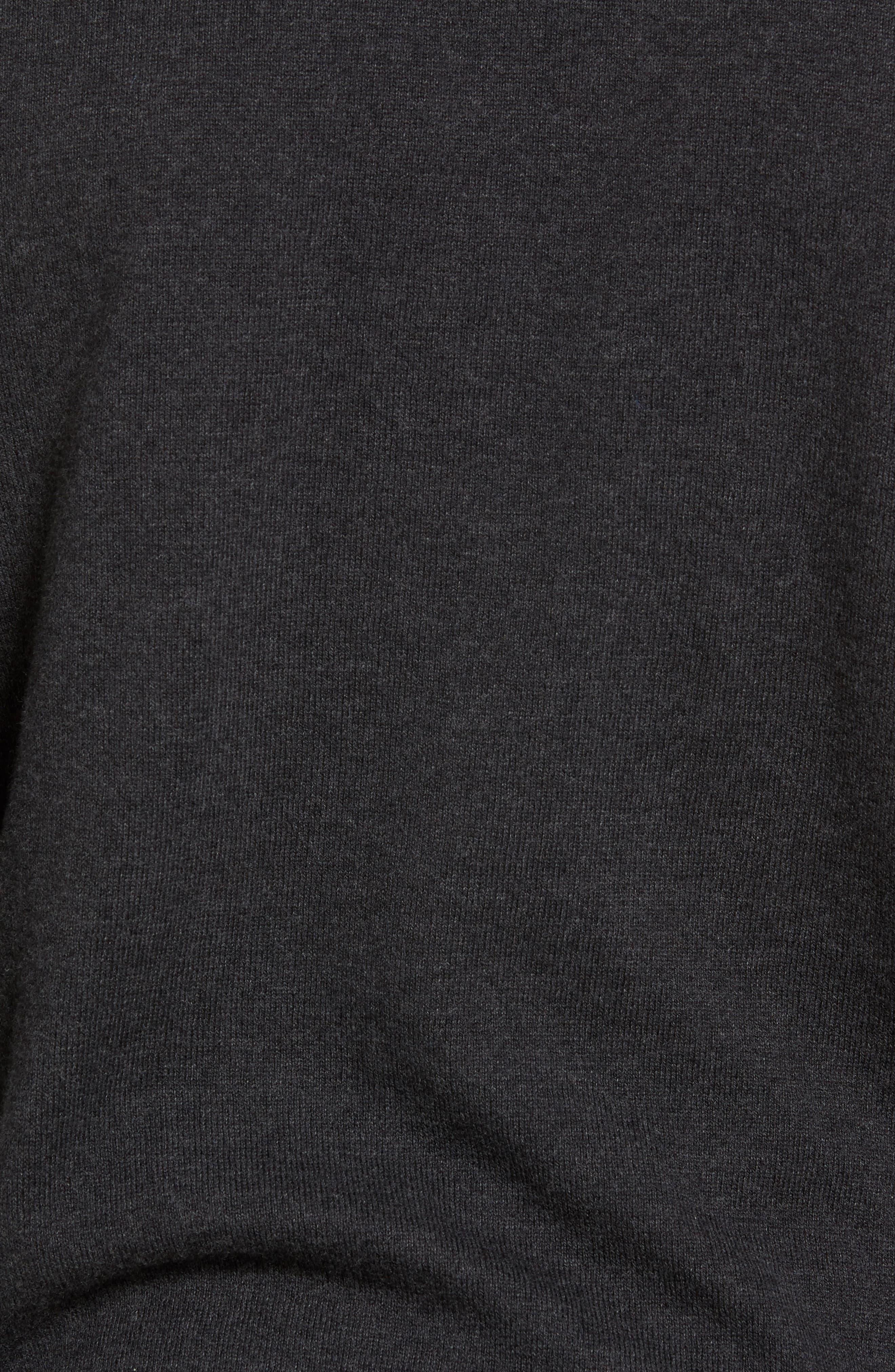 Alternate Image 5  - Nordstrom Men's Shop Shawl Collar Sweater (Big)