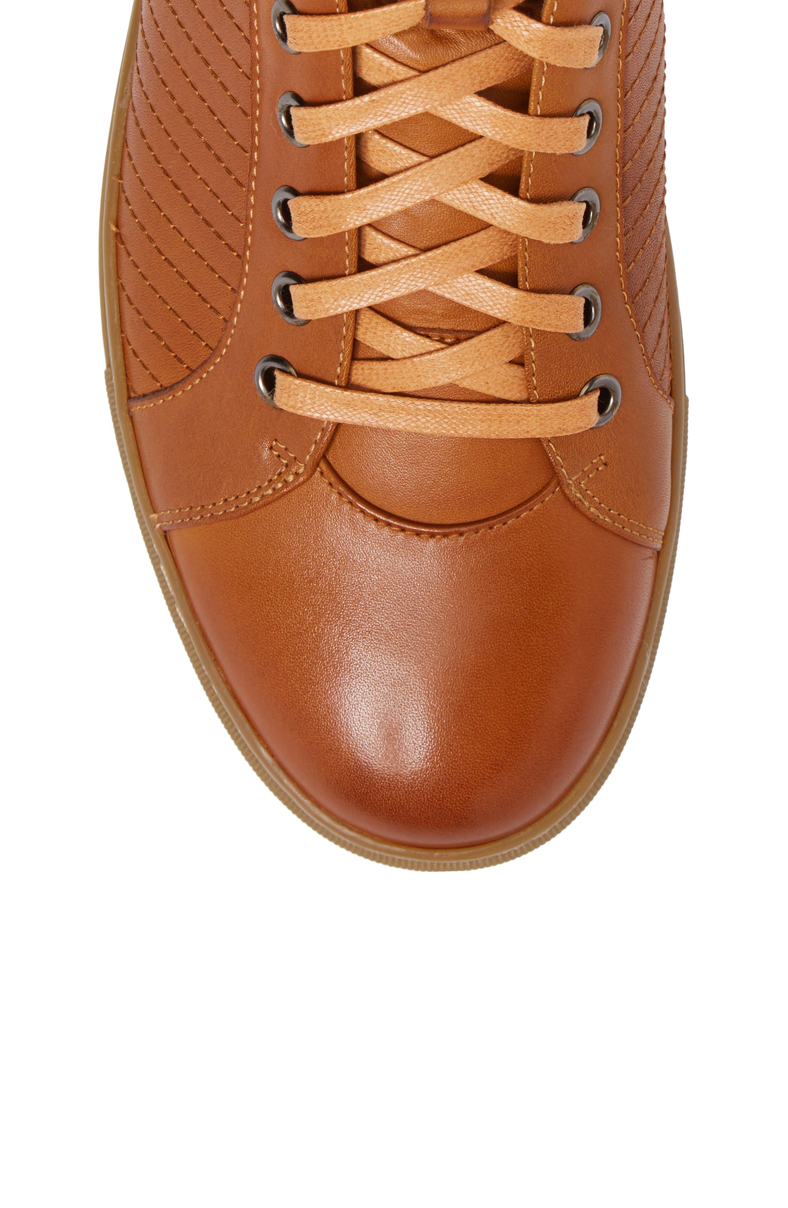 Youse Sneaker,                             Alternate thumbnail 5, color,                             Cognac Leather