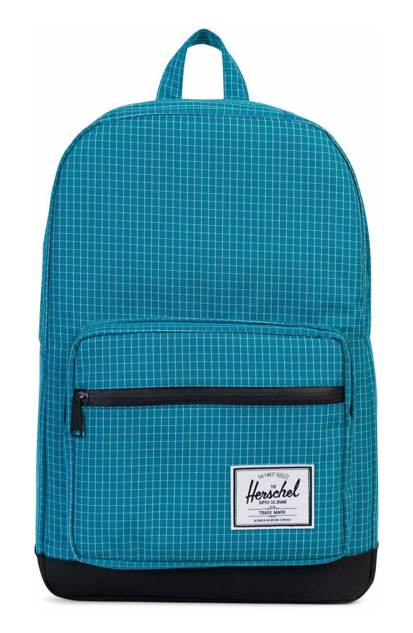 Pop Quiz Backpack,                         Main,                         color, Ocean Grid