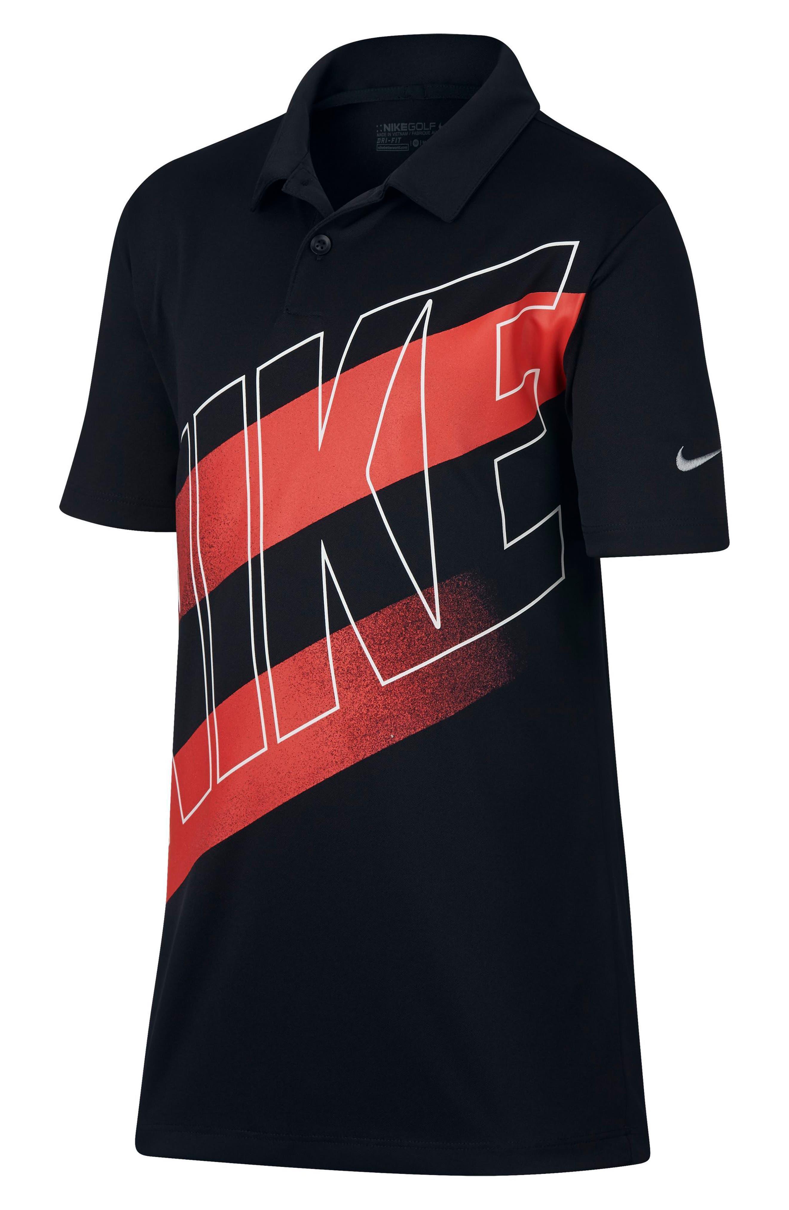 Main Image - Nike Dry Victory Graphic Polo (Big Boys)