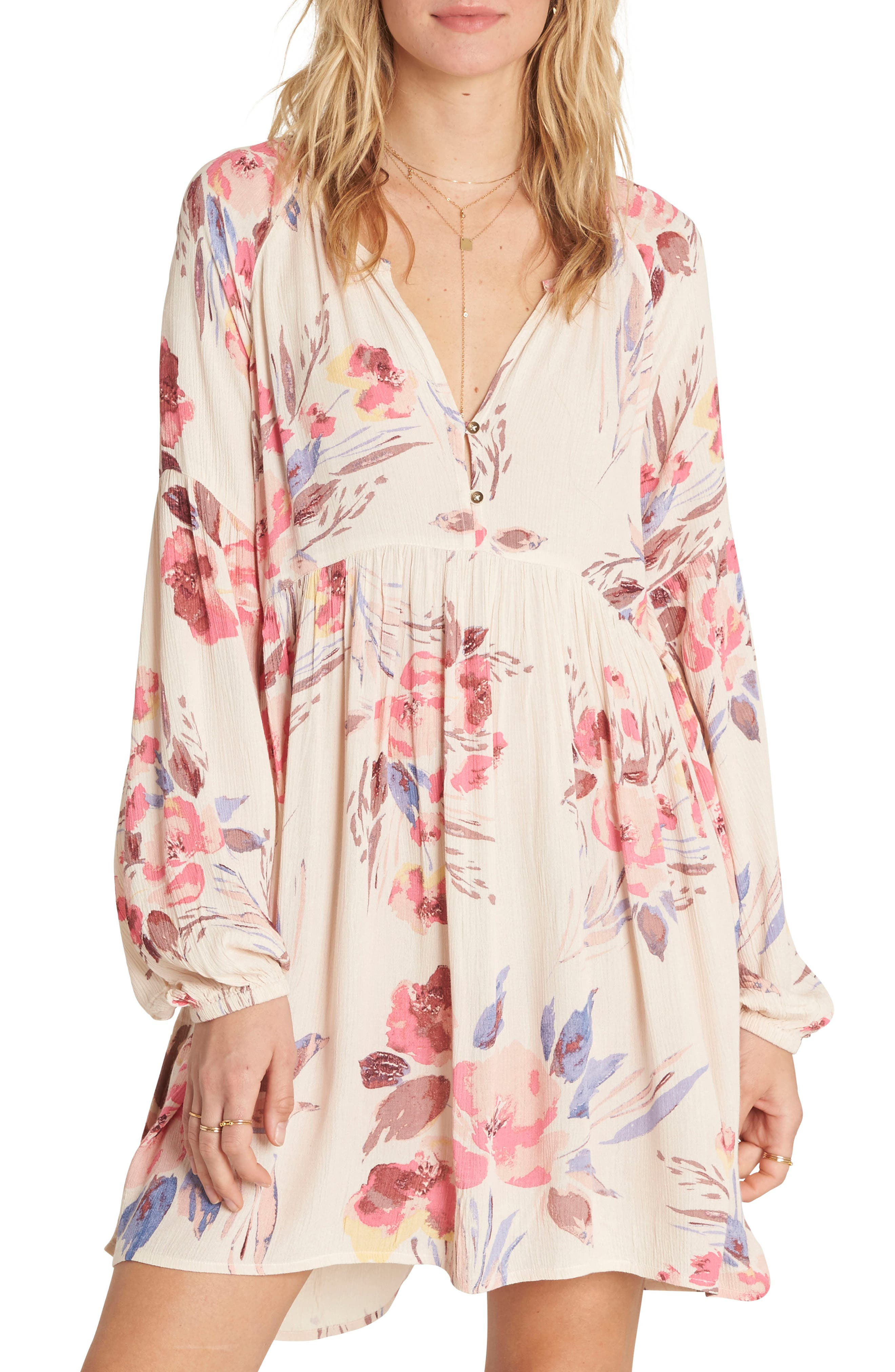 Main Image - Billabong Until Tomorrow Babydoll Dress