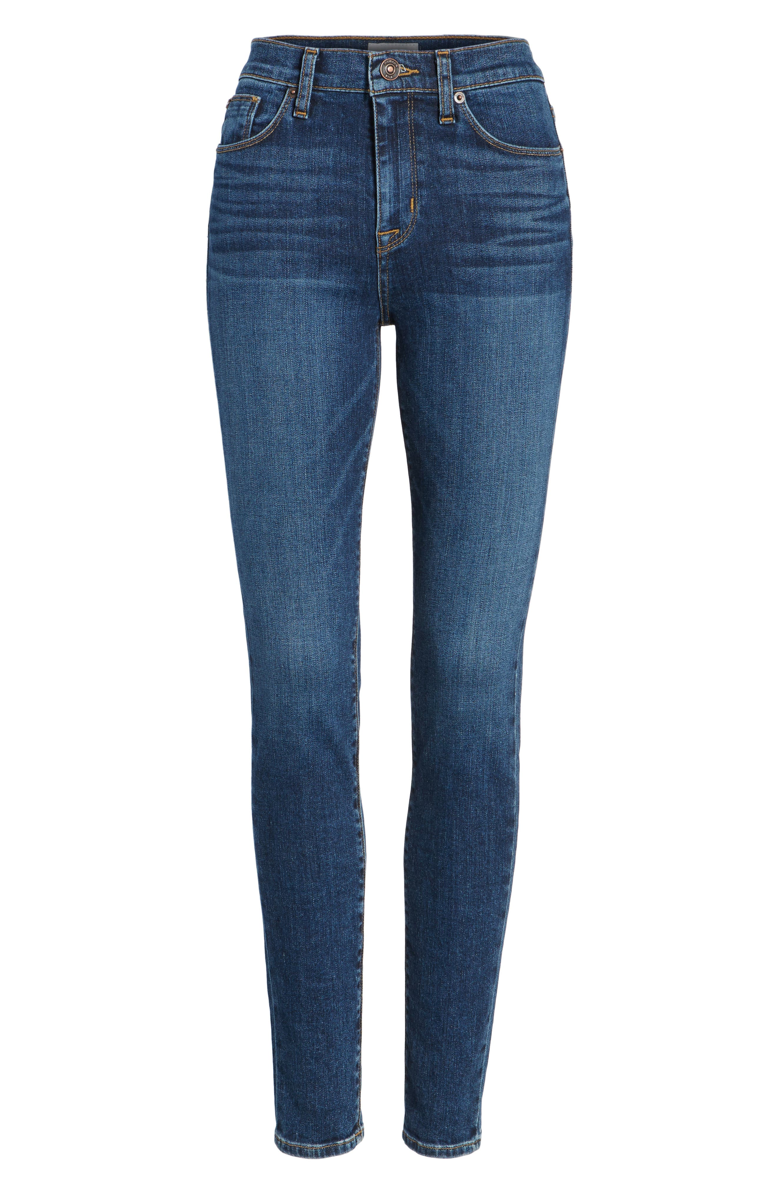 Barbara High Waist Super Skinny Jeans,                             Alternate thumbnail 7, color,                             Realism
