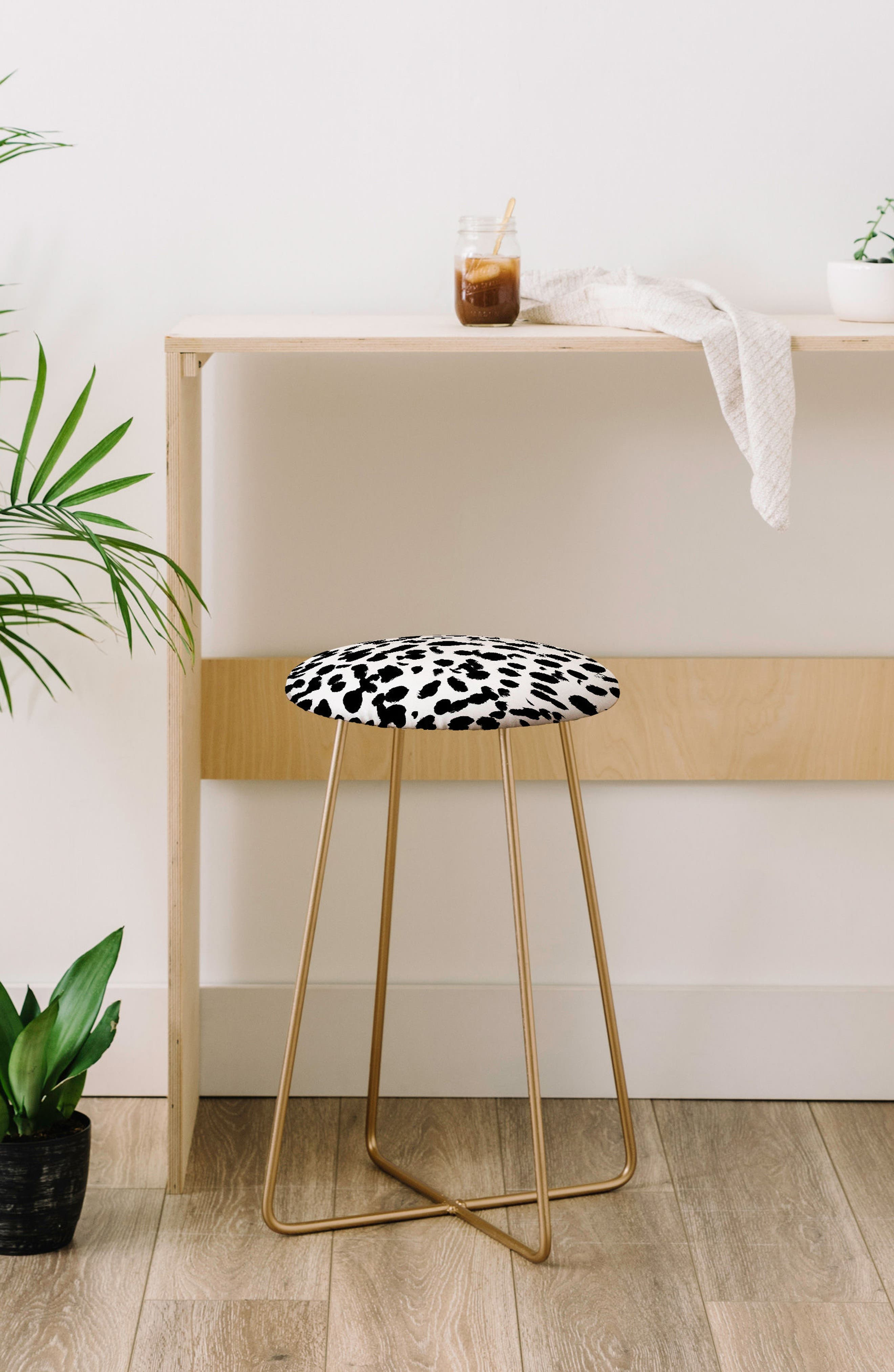 Alternate Image 2  - Deny Designs Print Counter Stool