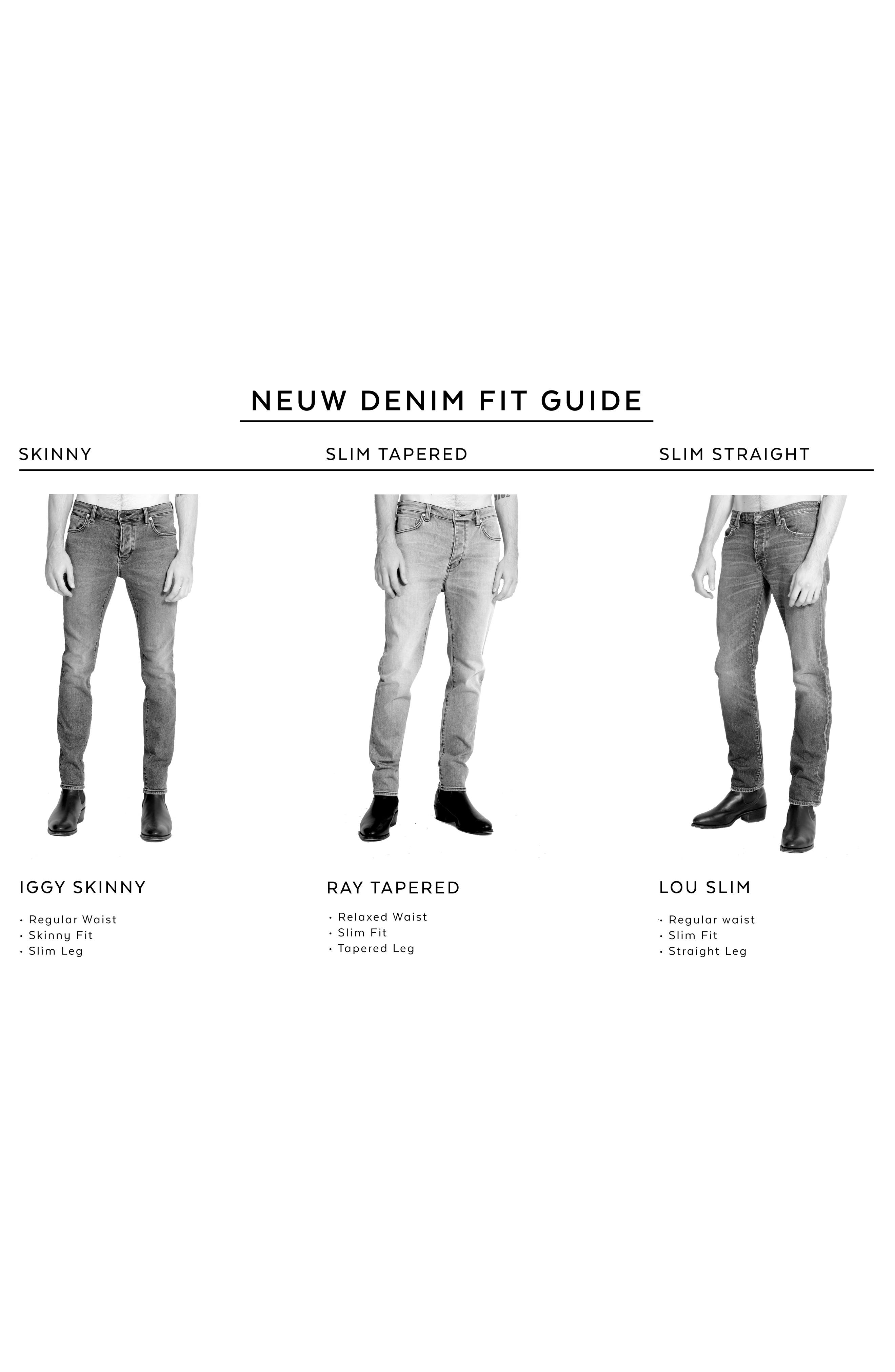Alternate Image 7  - NEUW Lou Slim Fit Jeans (Biker Wash)