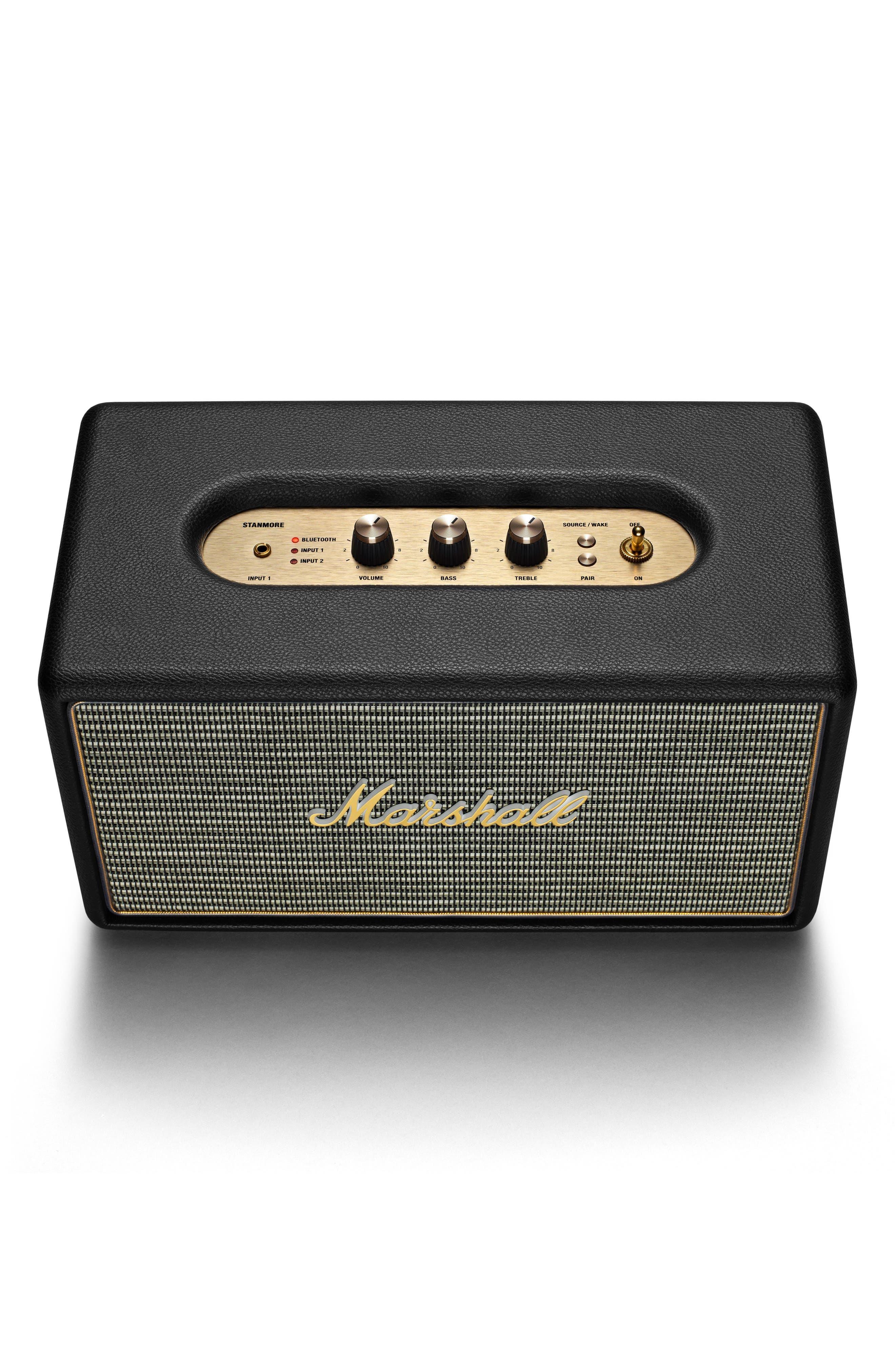 Stanmore Bluetooth Speaker,                             Alternate thumbnail 4, color,                             Black