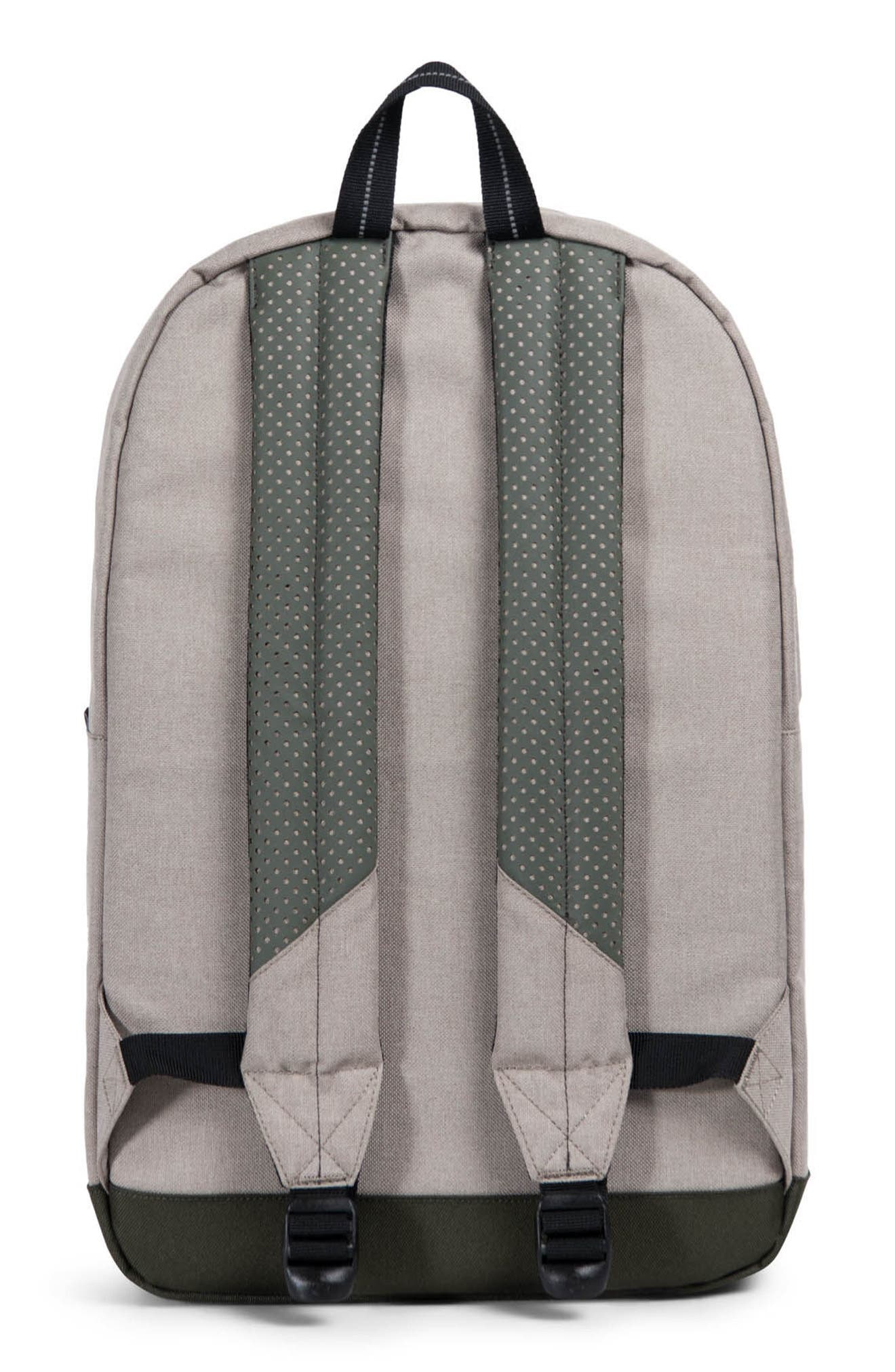 Pop Quiz Aspect Backpack,                             Alternate thumbnail 2, color,                             Khaki Crosshatch/ Forest Night
