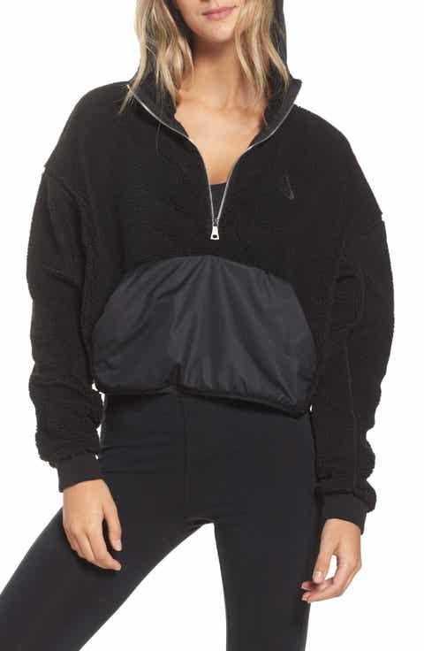 Nike NikeLab Essential Half Zip Fleece Hoodie
