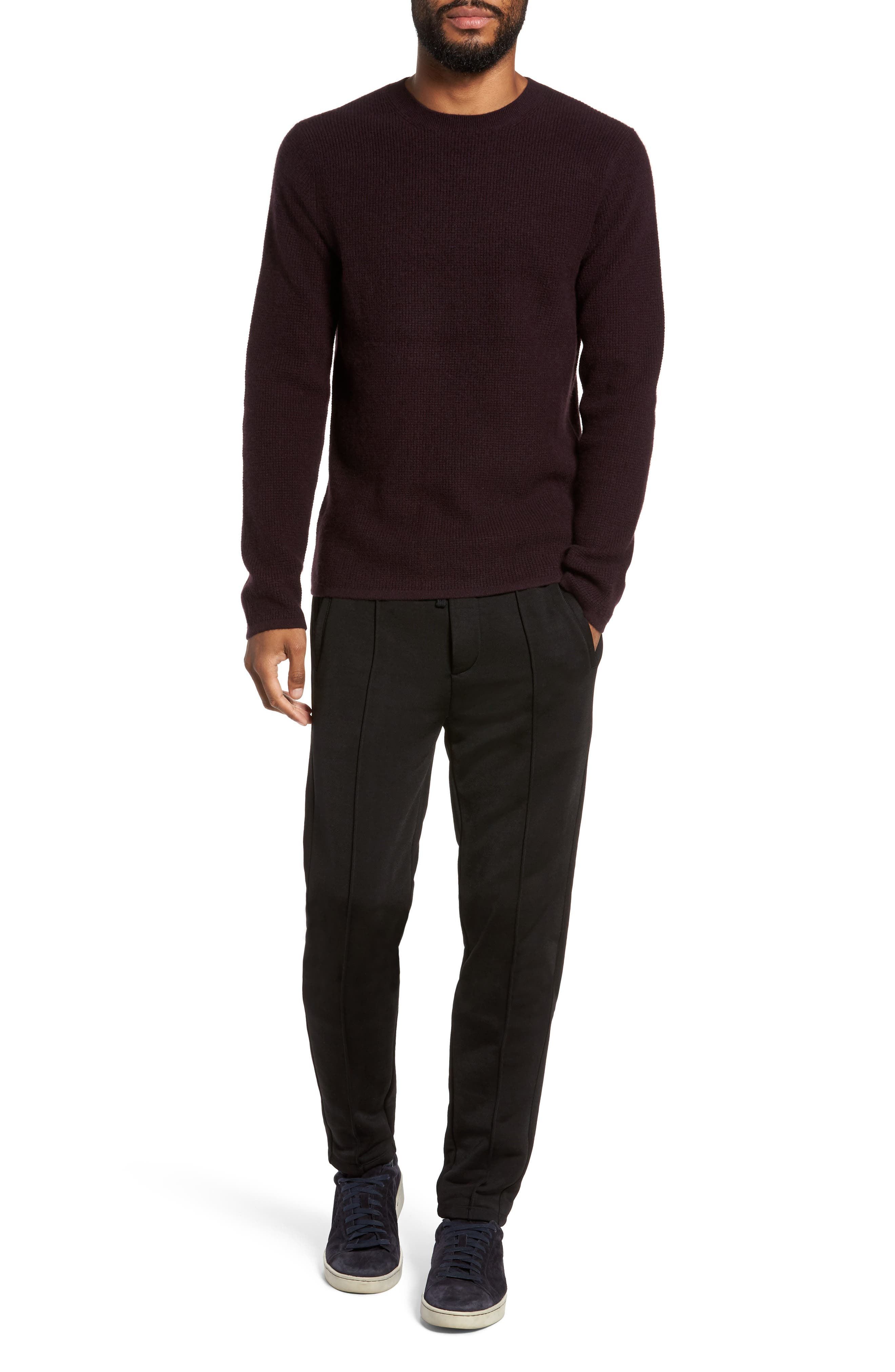 Alternate Image 7  - Vince Thermal Wool & Cashmere Sweater