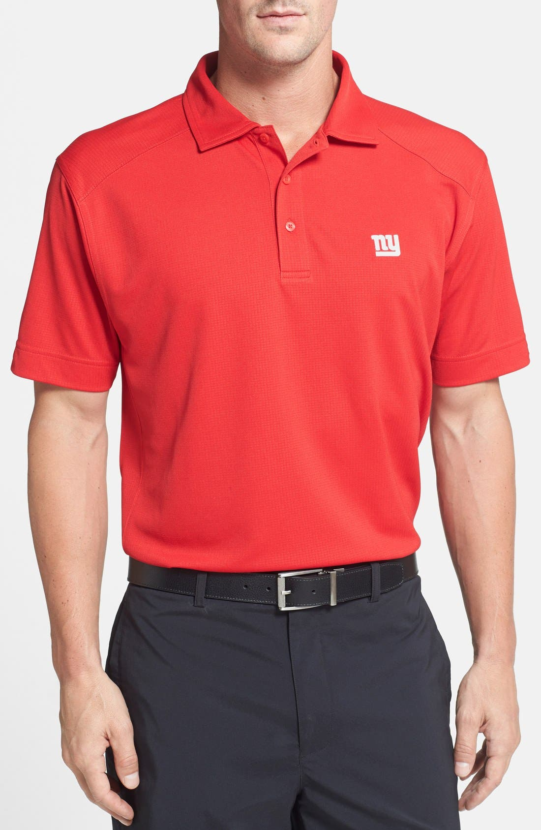 Cutter & Buck 'New York Giants - Genre' DryTec Moisture Wicking Polo (Big & Tall)