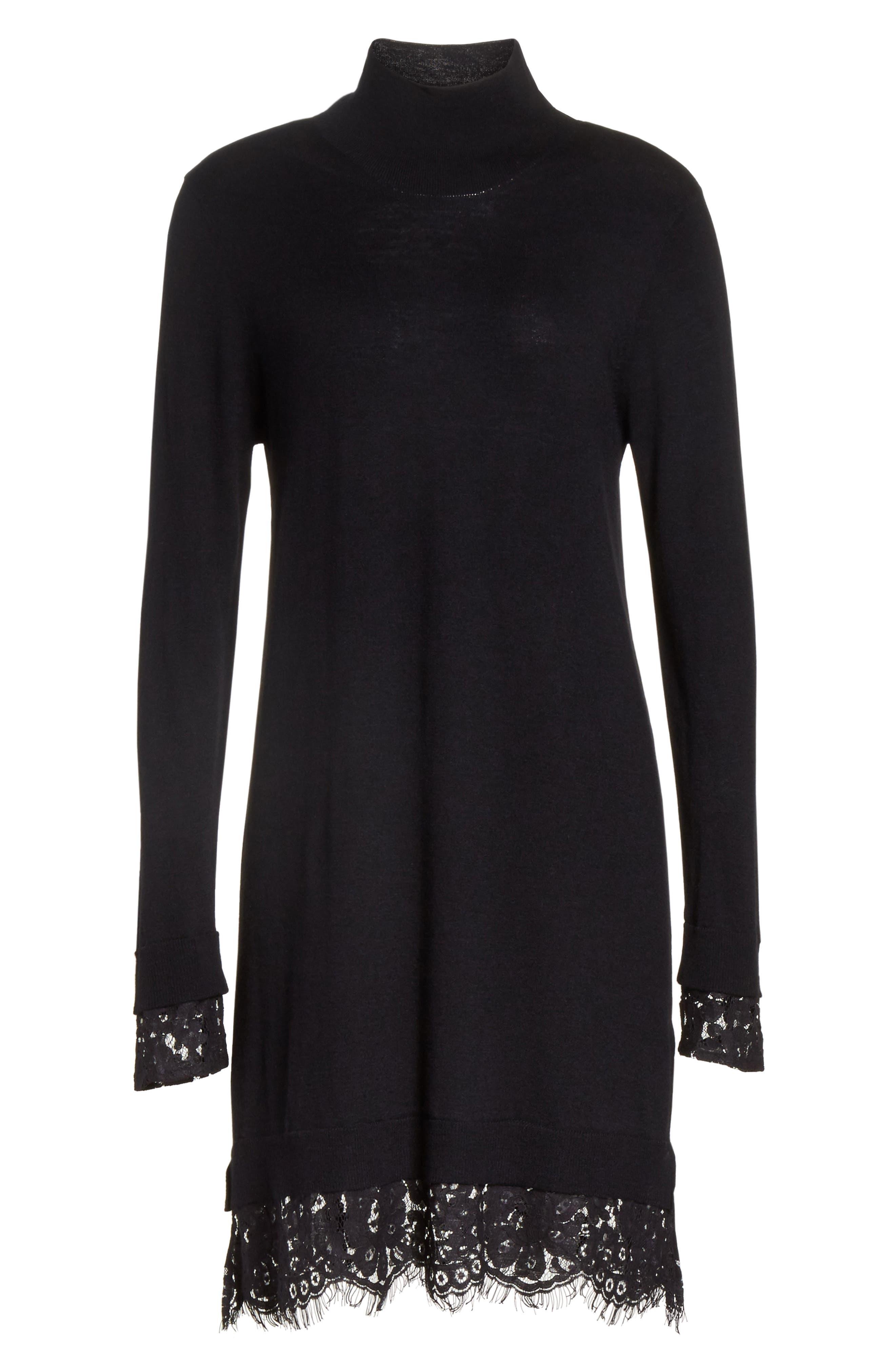 Alternate Image 6  - Joie Fredrika B Lace Trim Dress