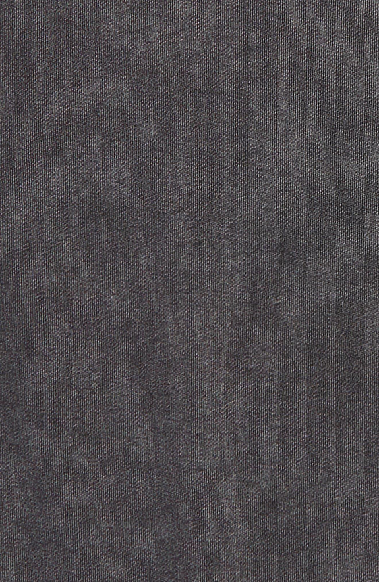 Boxy Fleece T-Shirt,                             Alternate thumbnail 2, color,                             Black Wash