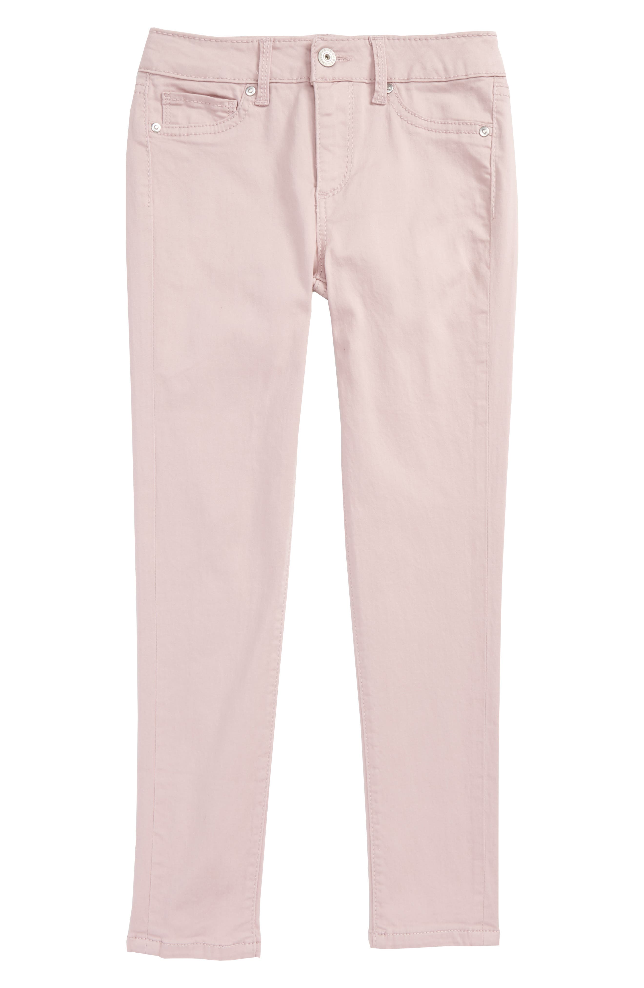 Alternate Image 1 Selected - ag adriano goldschmied kids Twiggy Luxe Ankle Skinny Jeans (Toddler Girls & Little Girls)