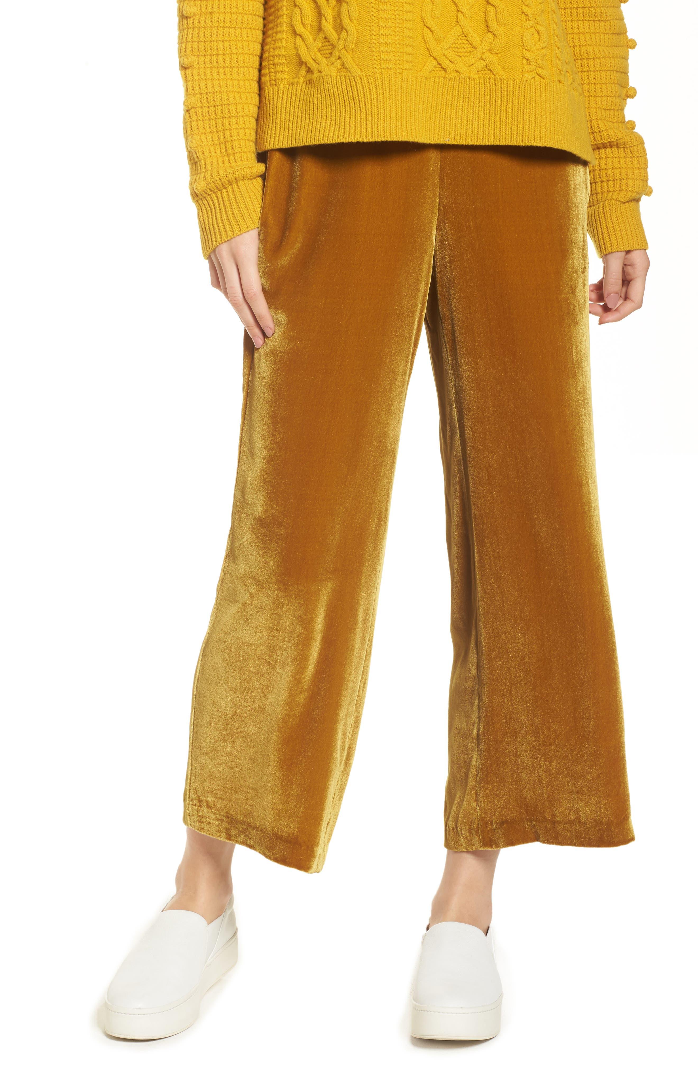 Alternate Image 1 Selected - Madewell Velvet Pants