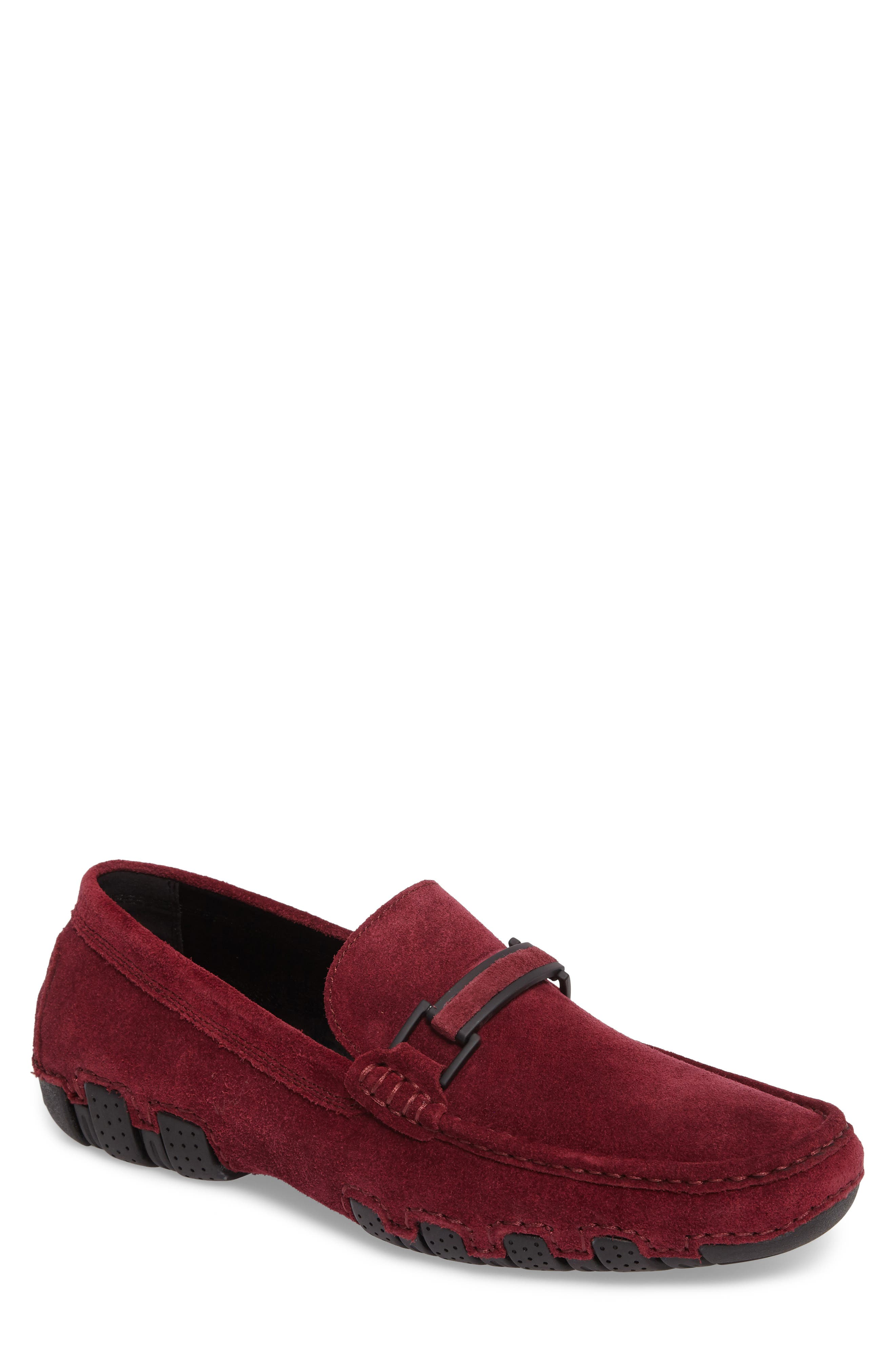 Kenneth Cole Reaction Driving Shoe,                         Main,                         color, Burgundy