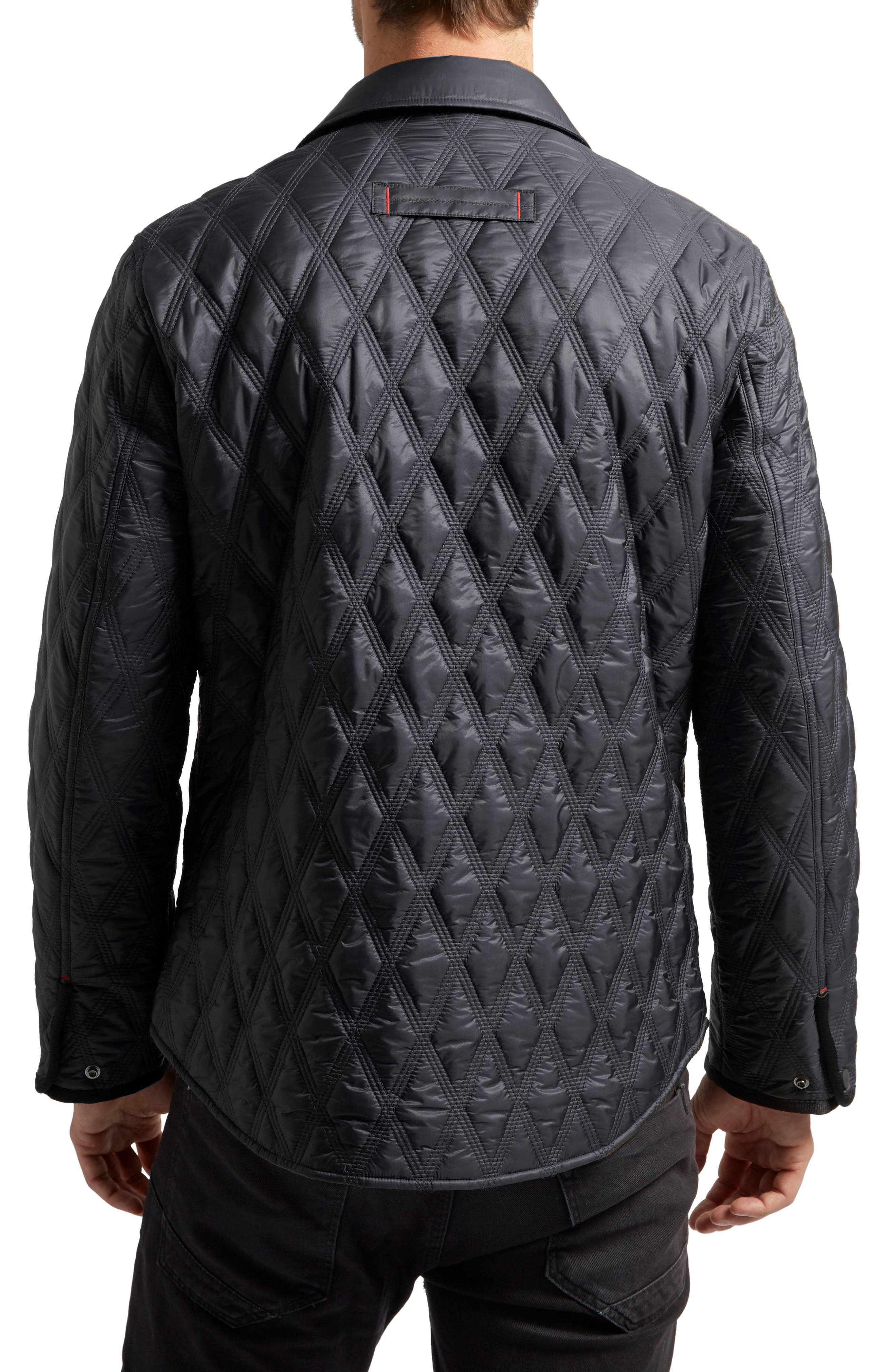 Searcy Heat System Triple Stitch Quilted Jacket,                             Alternate thumbnail 2, color,                             Midnight