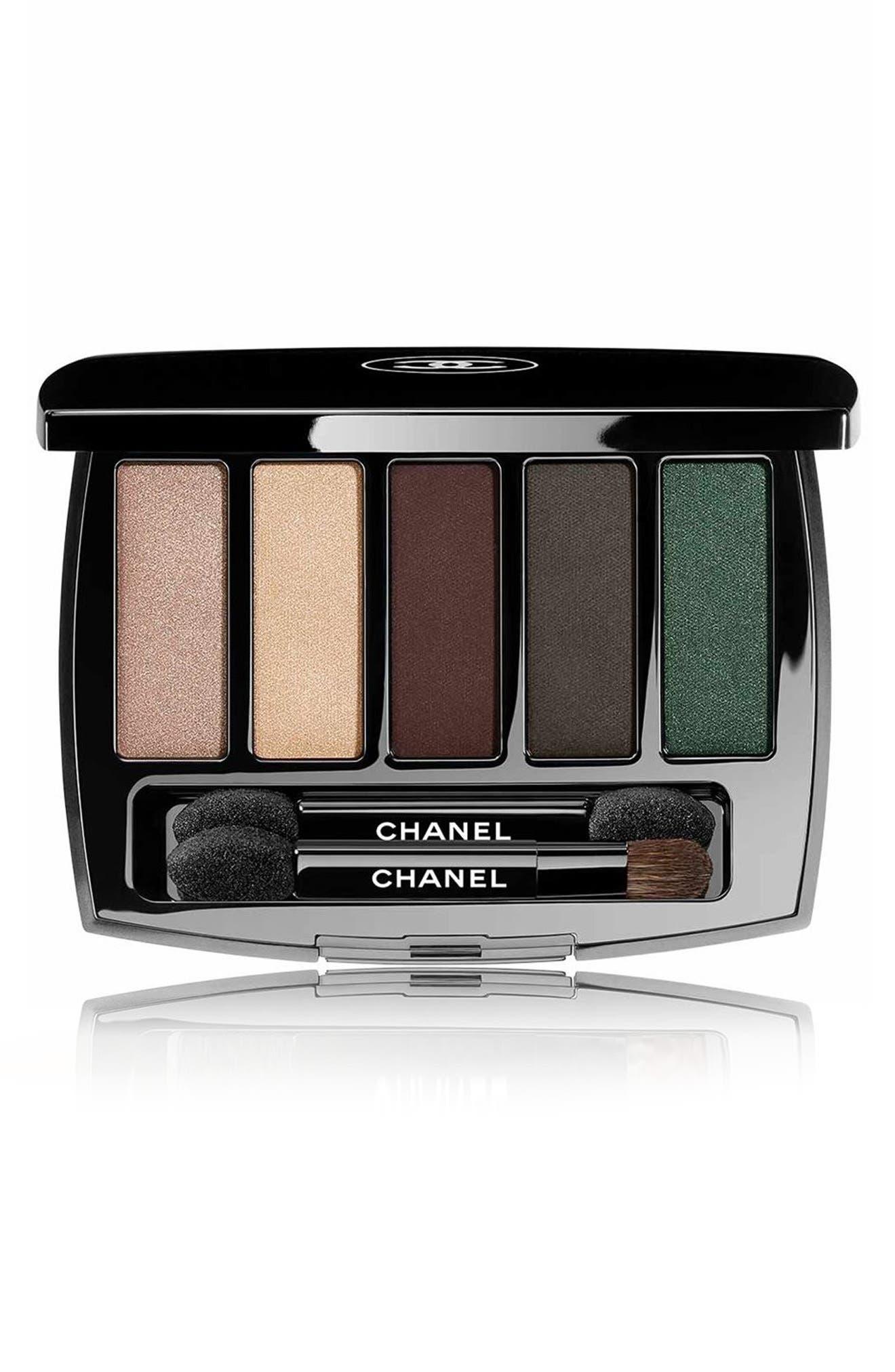chanel mascara. chanel trait de caractere eyeshadow palette (limited edition) chanel mascara