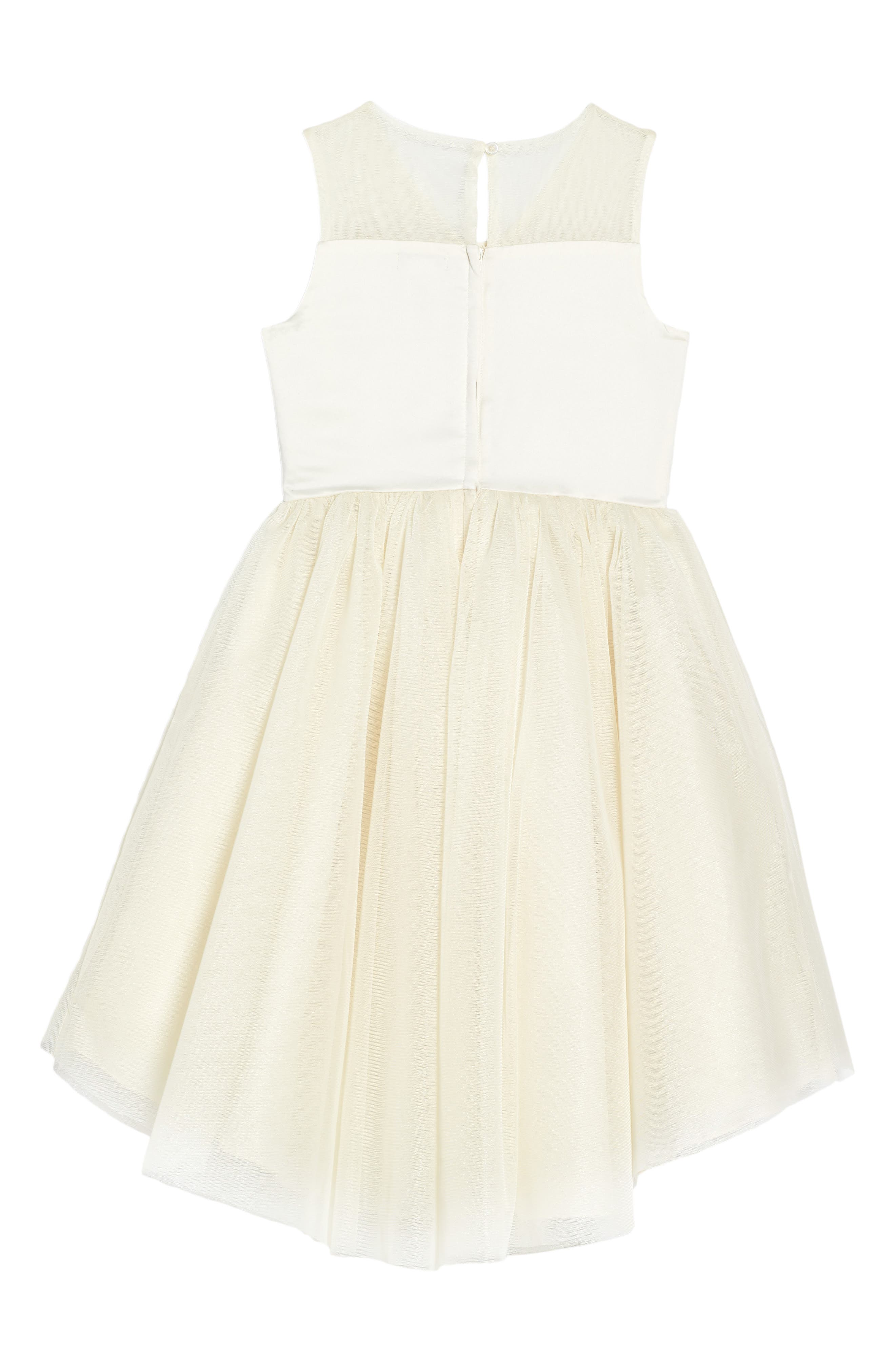 Nanette Lapore Butterfly Dress,                             Alternate thumbnail 2, color,                             Cream