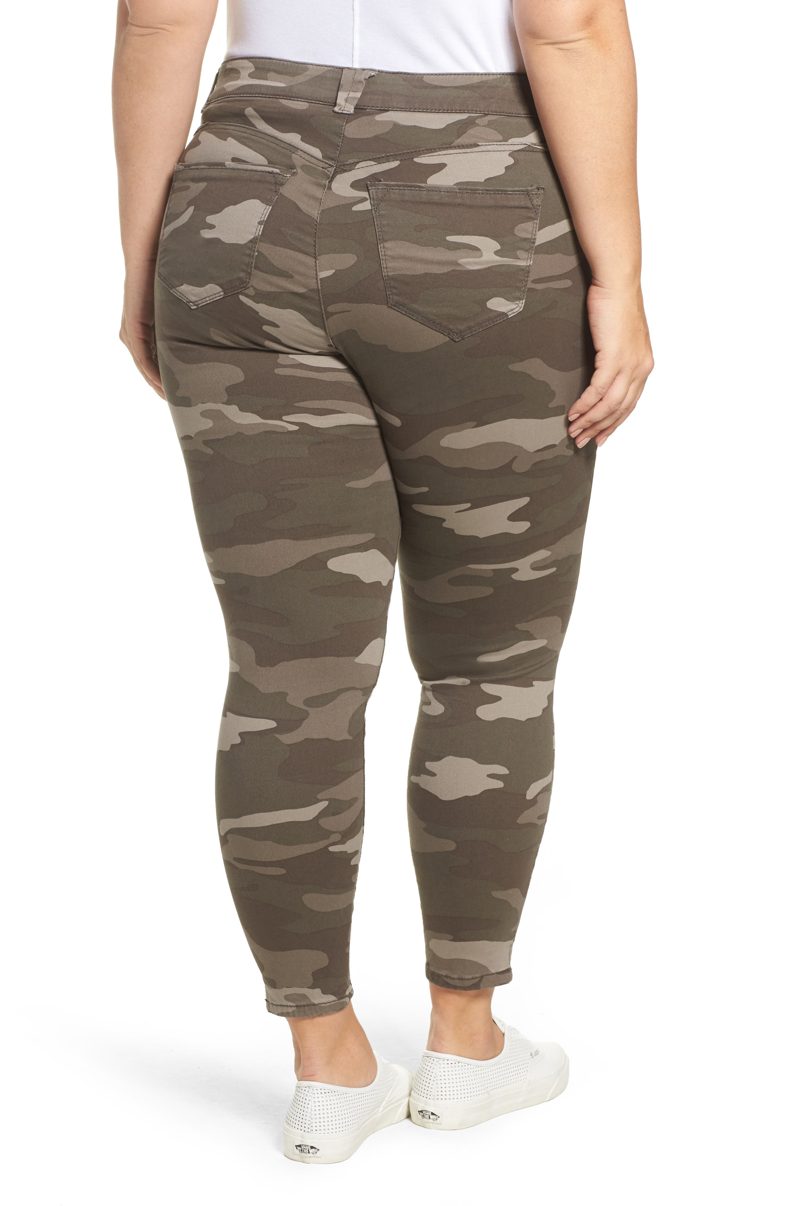 Alternate Image 2  - Wit & Wisdom Ab-solution Camo Skinny Pants (Plus Size) (Nordstrom Exclusive)