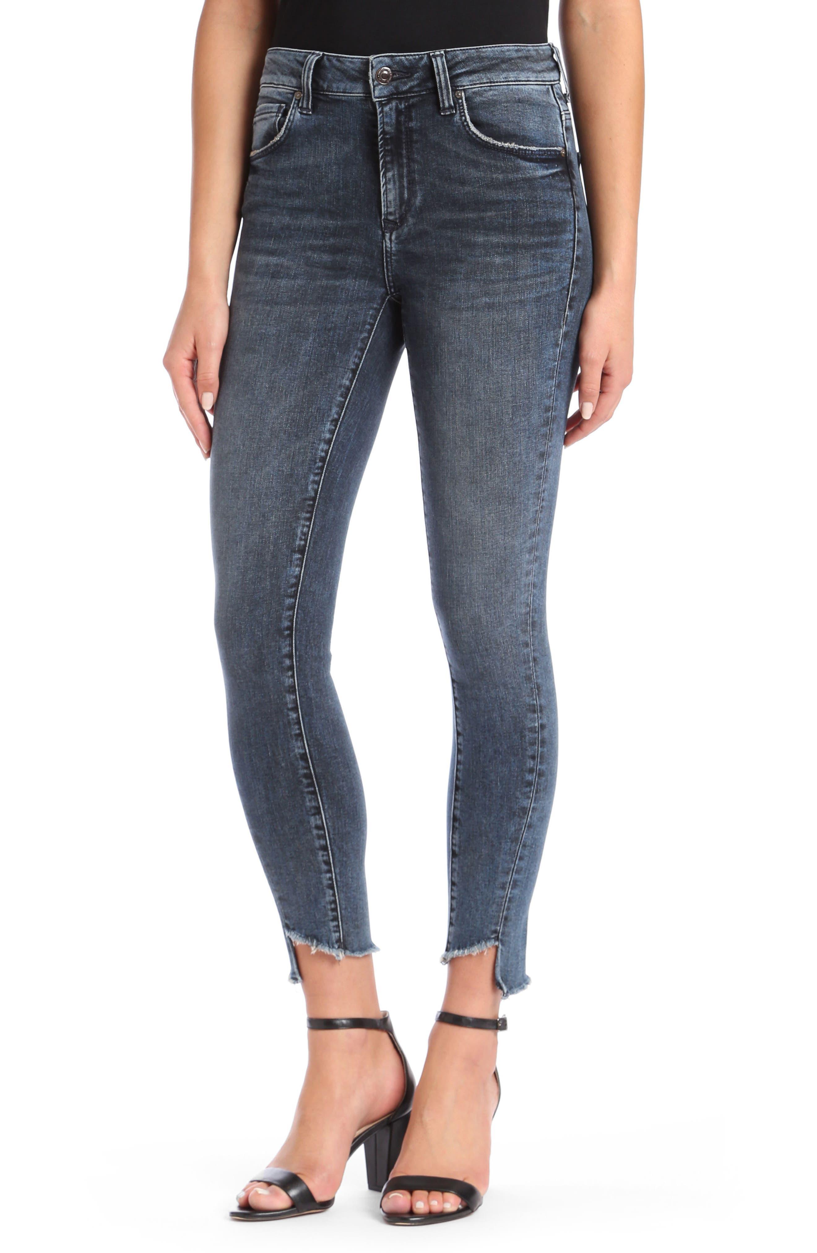 Mavi Jeans TESS TWISTED STEP HEM SKINNY JEANS