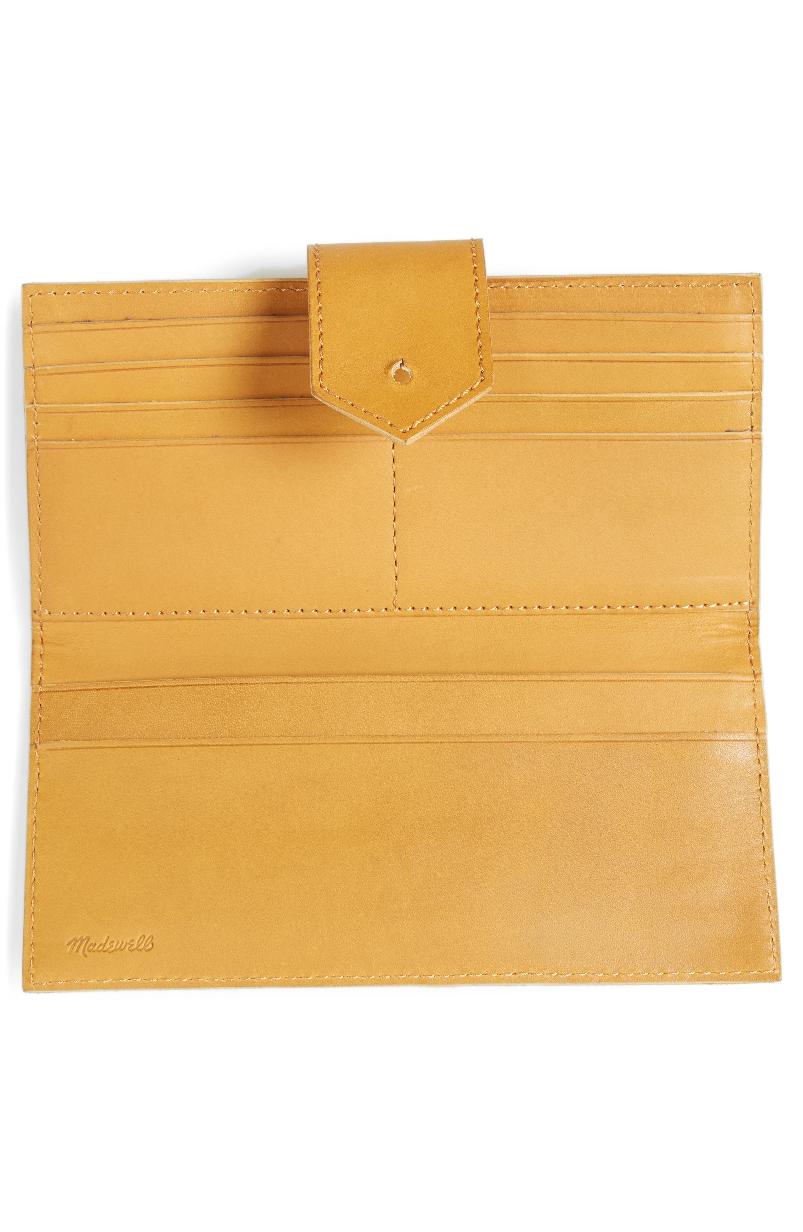 The Post Leather Wallet,                             Alternate thumbnail 3, color,                             Cider