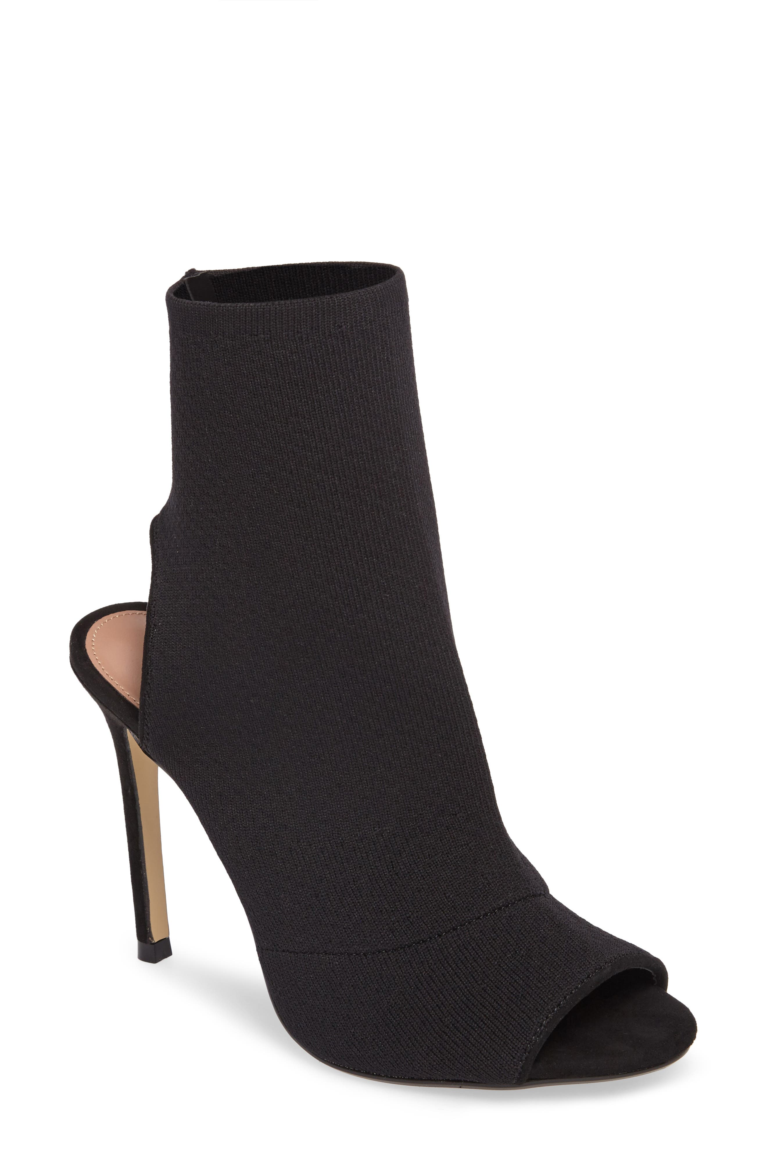 Topshop Madame Sock Shoe Bootie (Women)