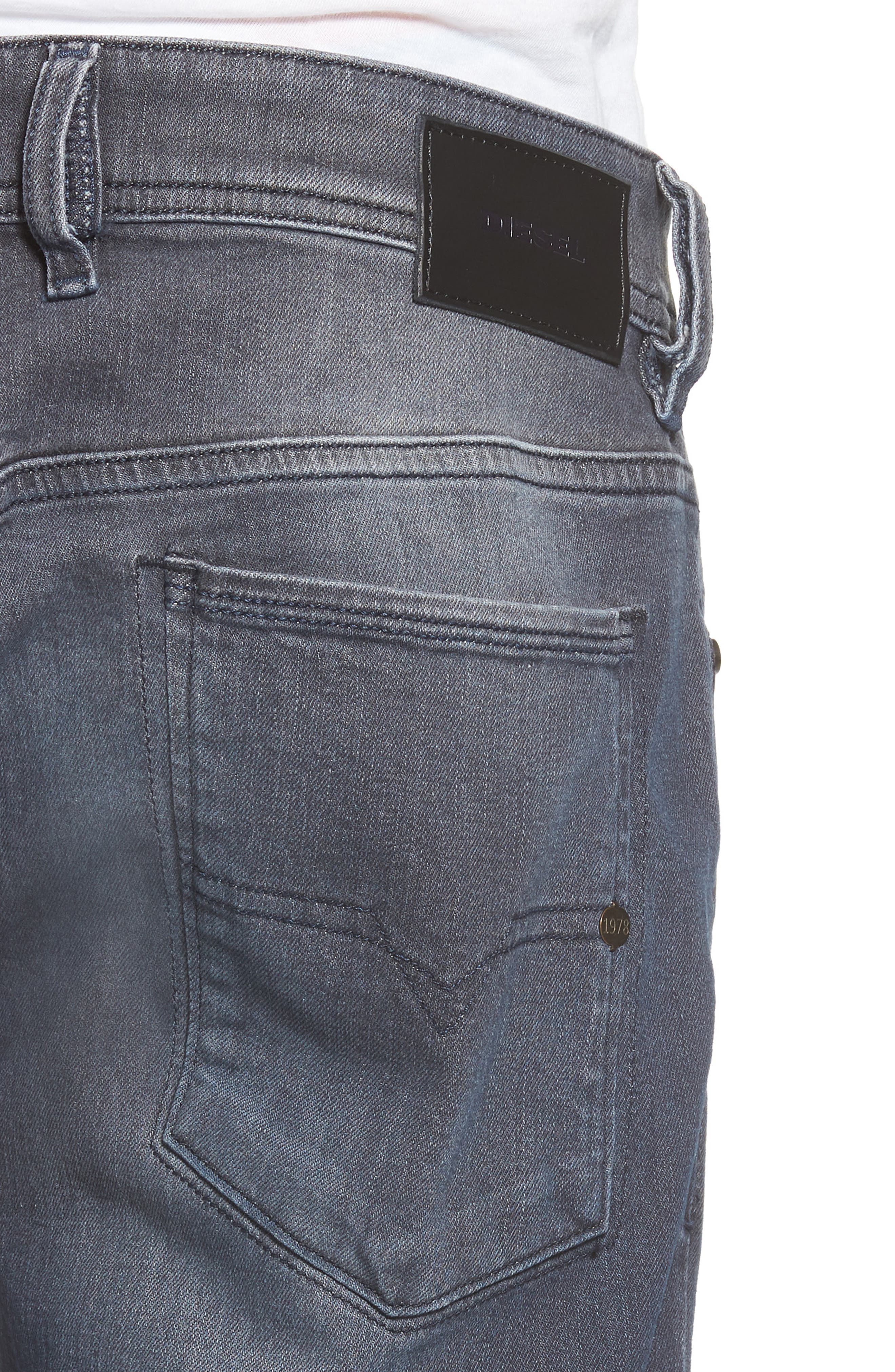 Alternate Image 4  - DIESEL® Sleenker Skinny Fit Jeans
