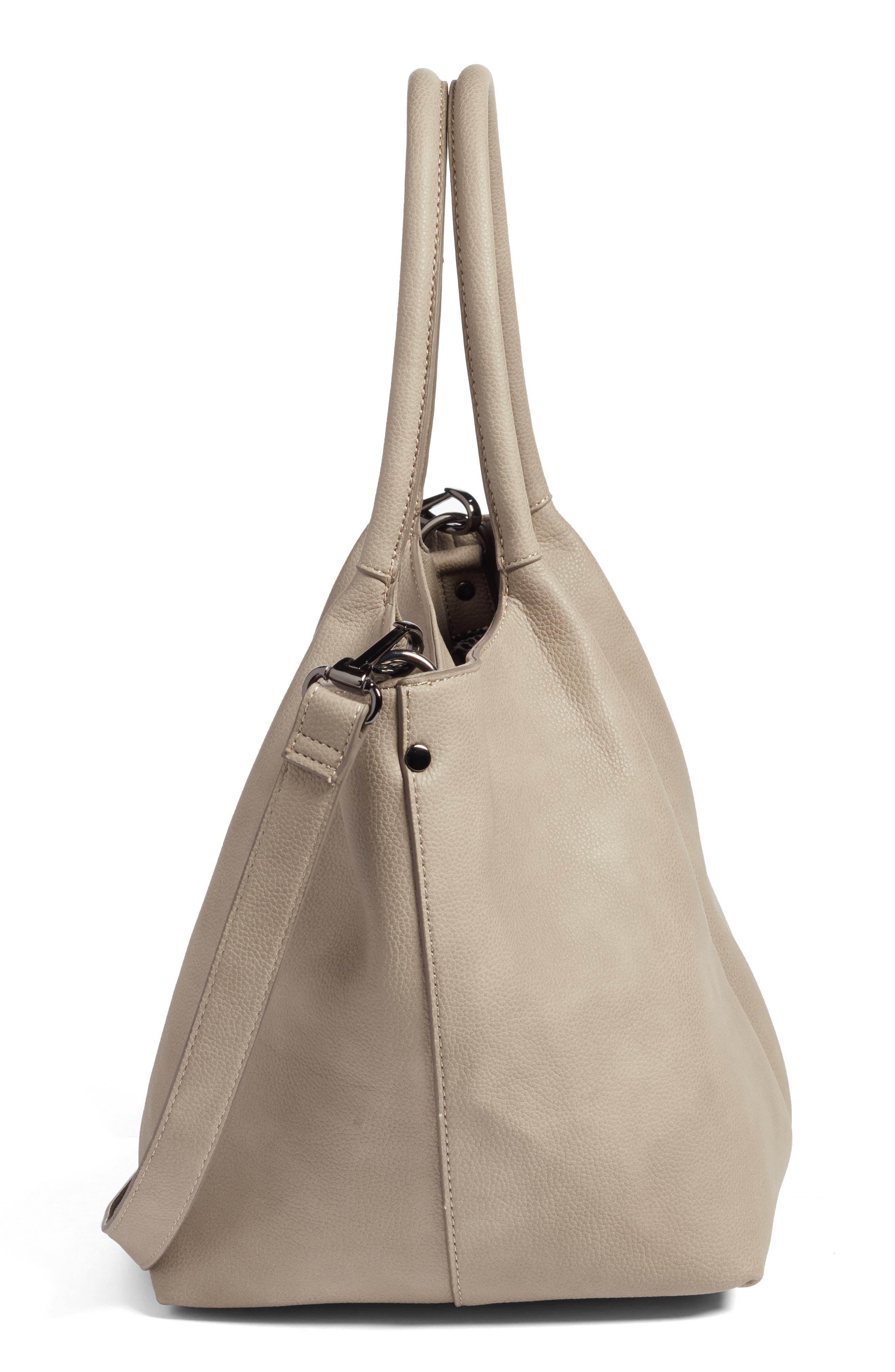 Alternate Image 4  - Sole Society Cindy Faux Leather Convertible Tote